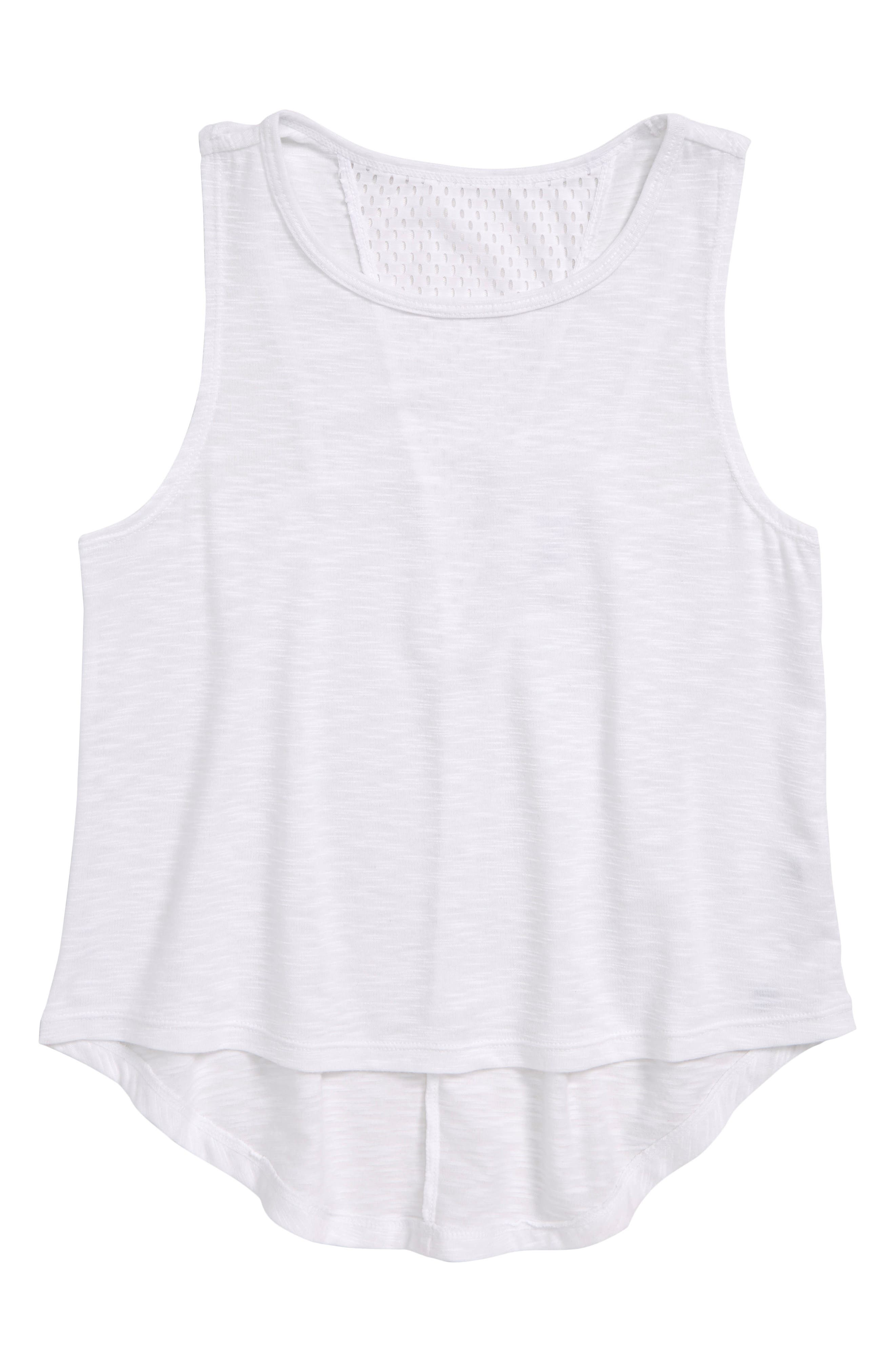 Mesh Prism Tank,                         Main,                         color, 100
