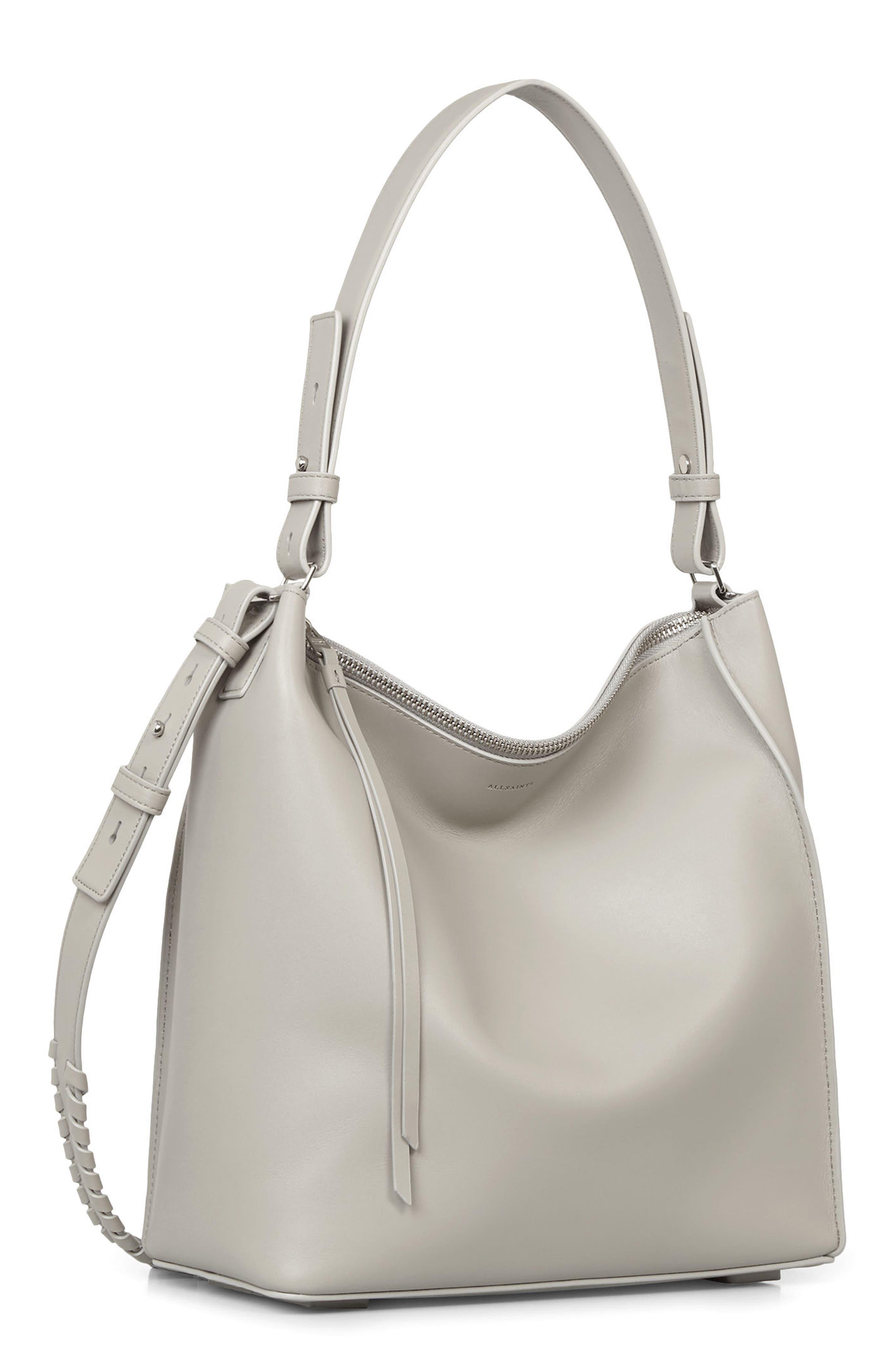 Kita Leather Shoulder/Crossbody Bag,                             Alternate thumbnail 3, color,                             052