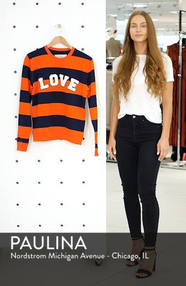 Love Stripe Sweatshirt, sales video thumbnail
