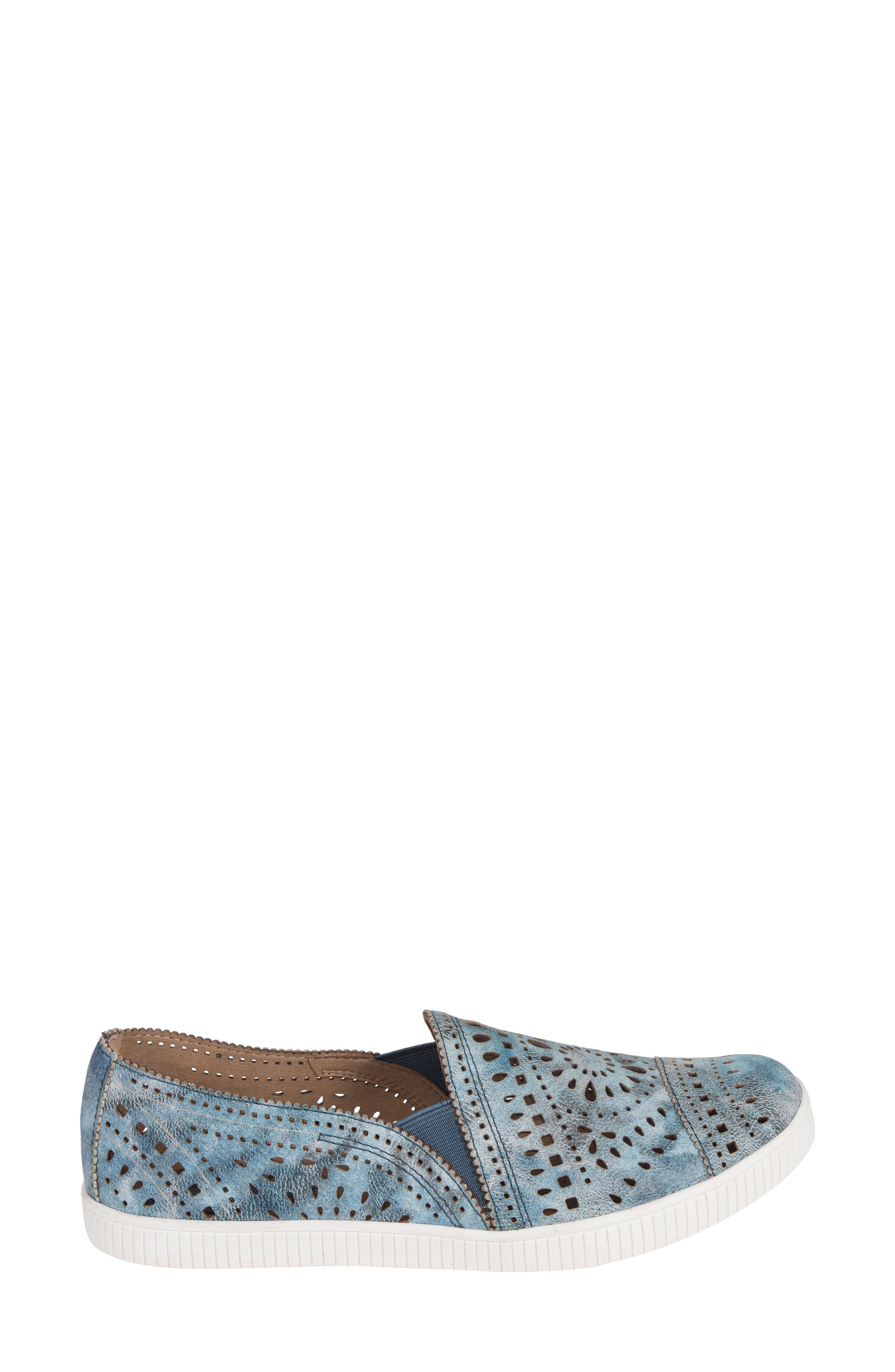 Tayberry Perforated Slip-On Sneaker,                             Alternate thumbnail 11, color,