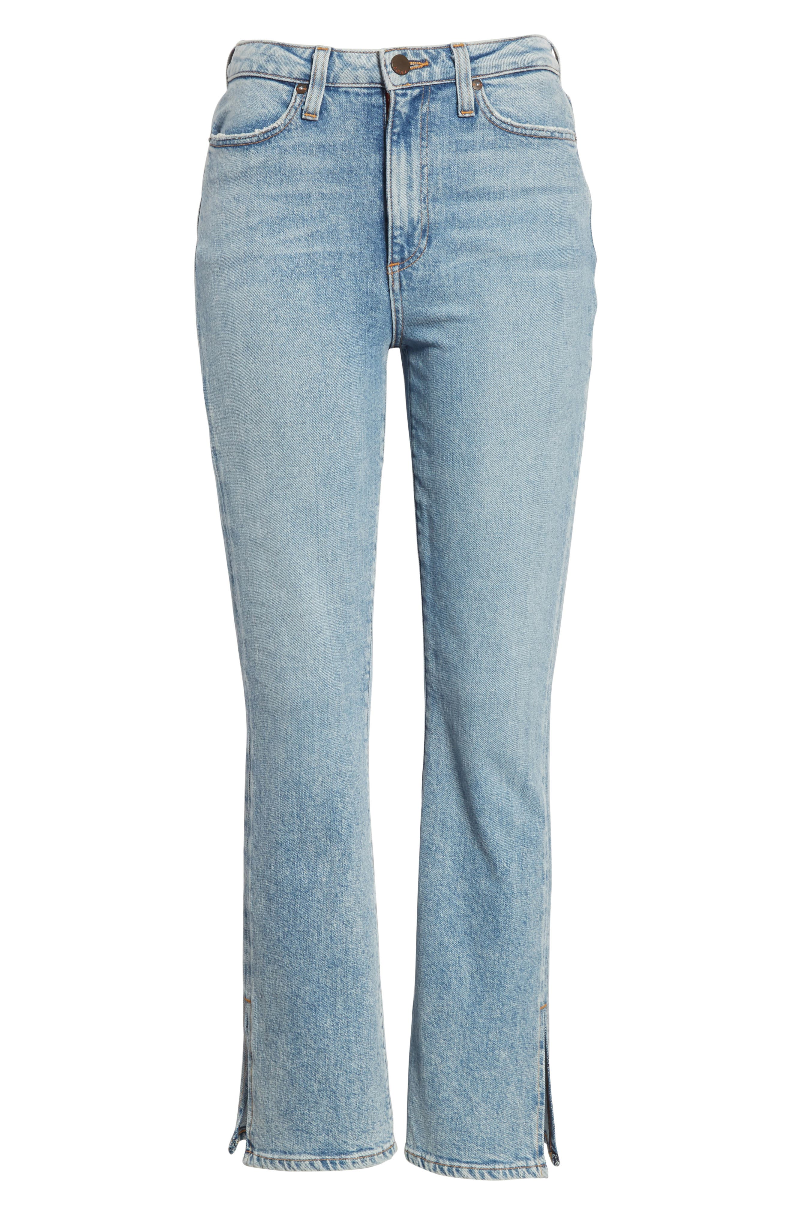 AO.LA Fabulous High Waist Baby Bootcut Jeans,                             Alternate thumbnail 6, color,