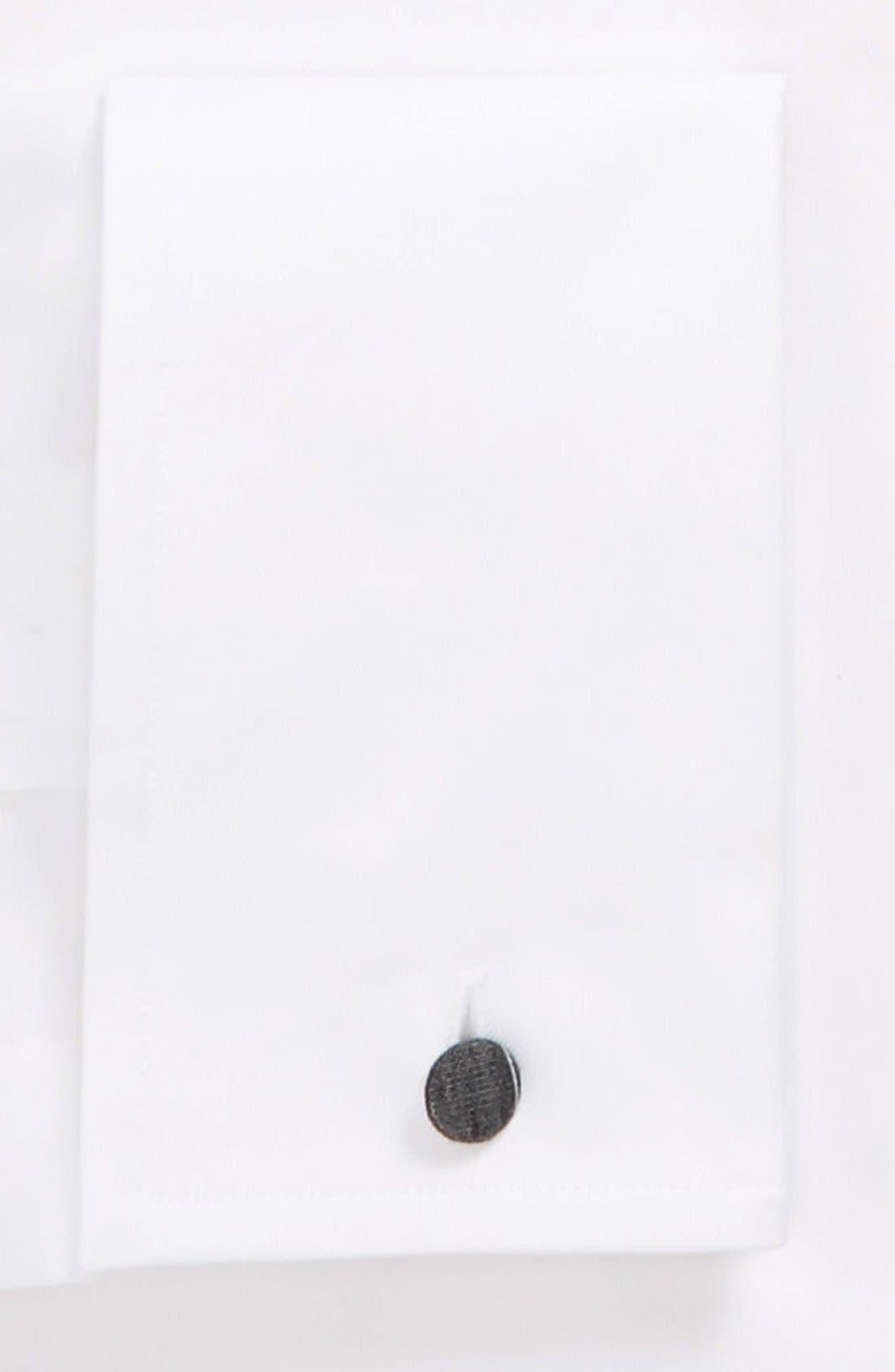 Contemporary Fit Dress Shirt,                             Alternate thumbnail 5, color,                             WHITE