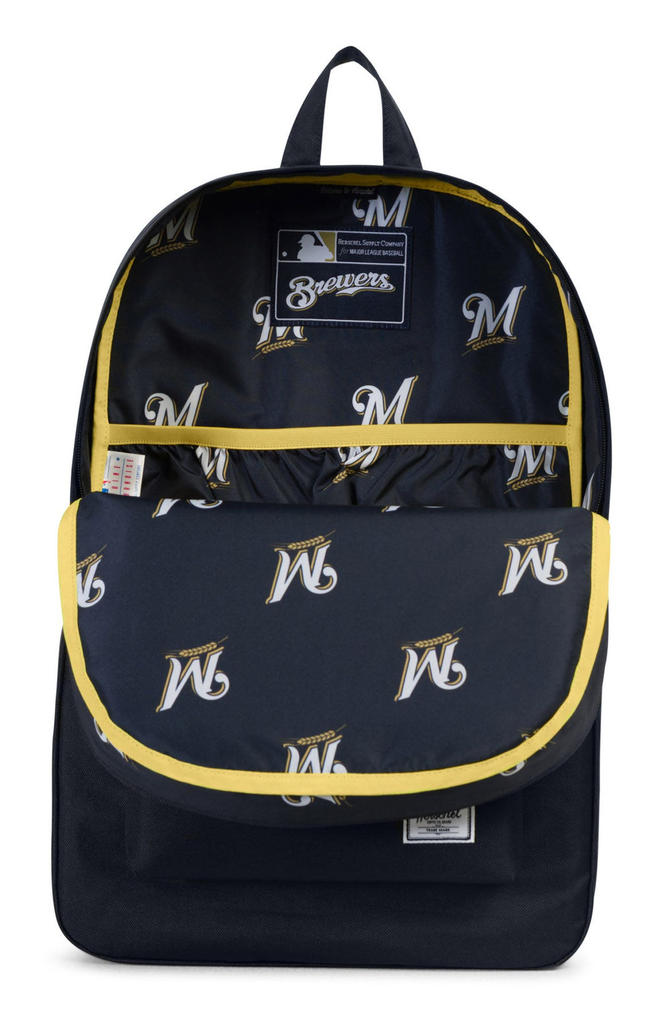 Heritage Milwaukee Brewers Backpack,                             Alternate thumbnail 3, color,                             406