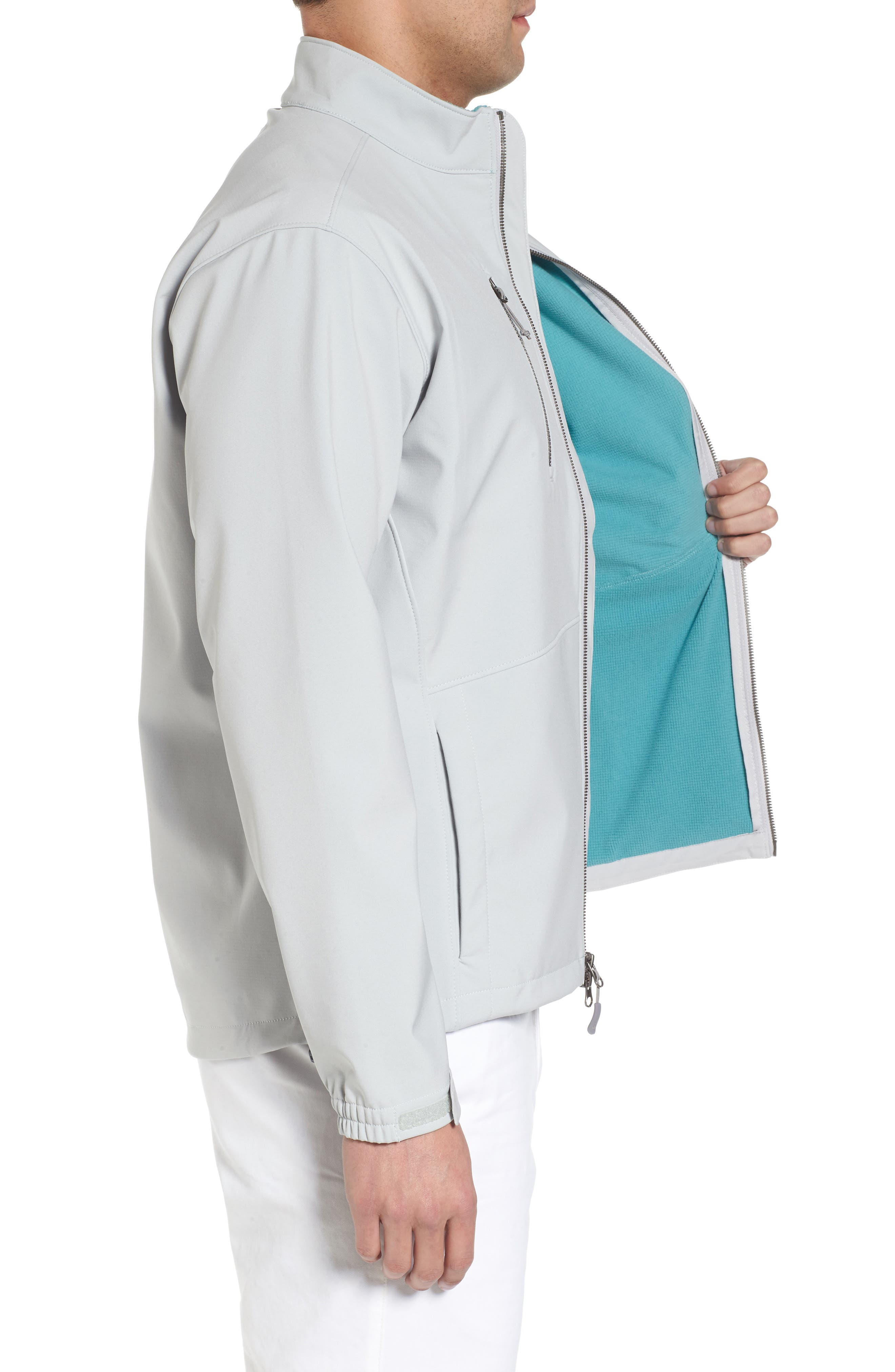 Anchorage 3-Layer Soft Shell Jacket,                             Alternate thumbnail 6, color,