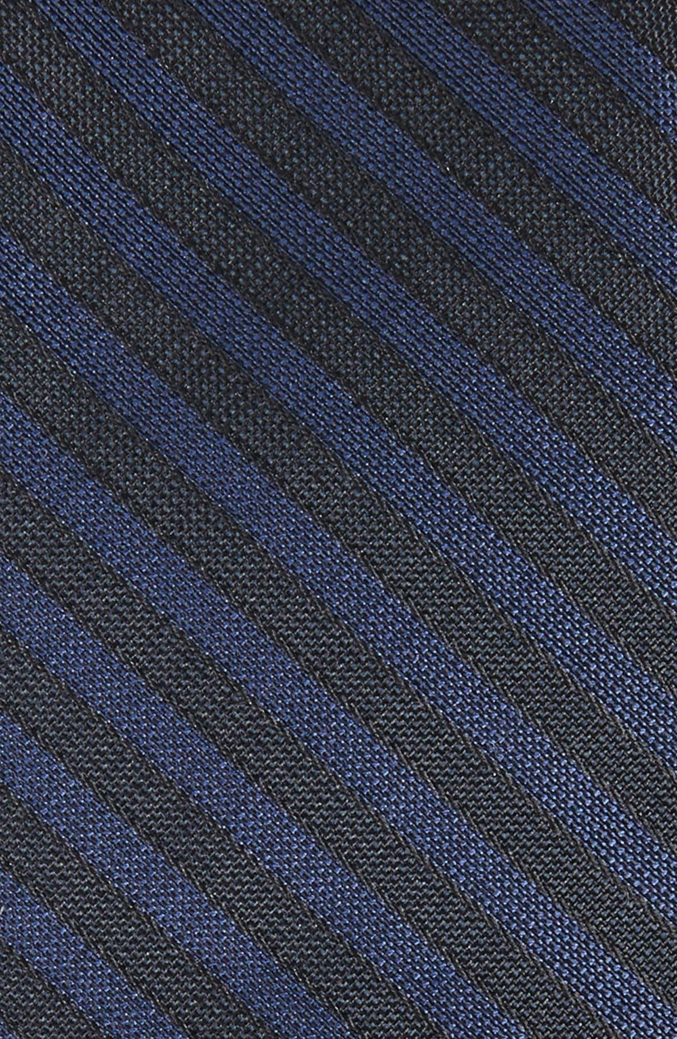 Pop Up Stripe Tie,                             Alternate thumbnail 2, color,                             001