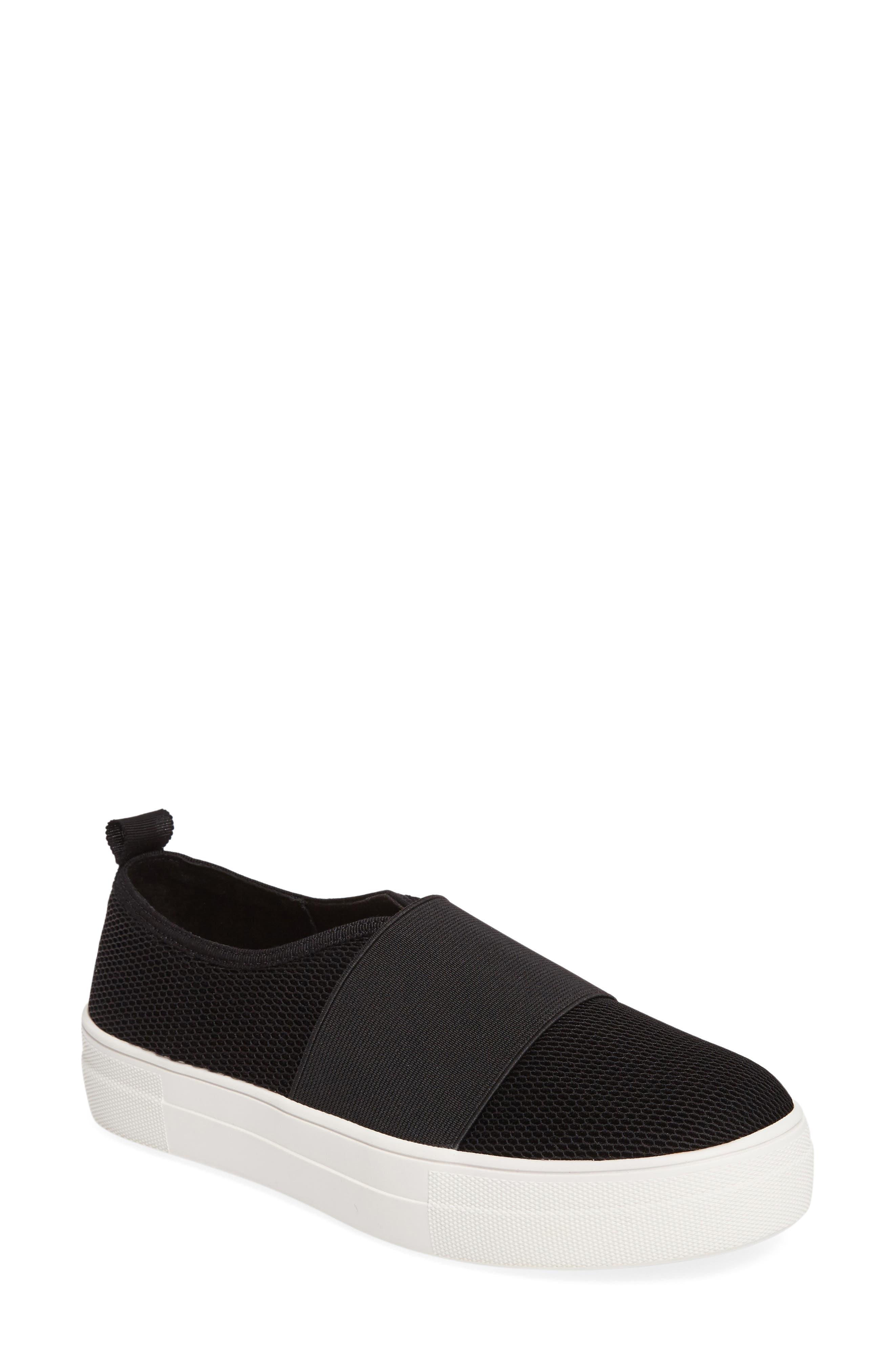 Glenn Slip-On Platform Sneaker,                             Main thumbnail 1, color,                             001