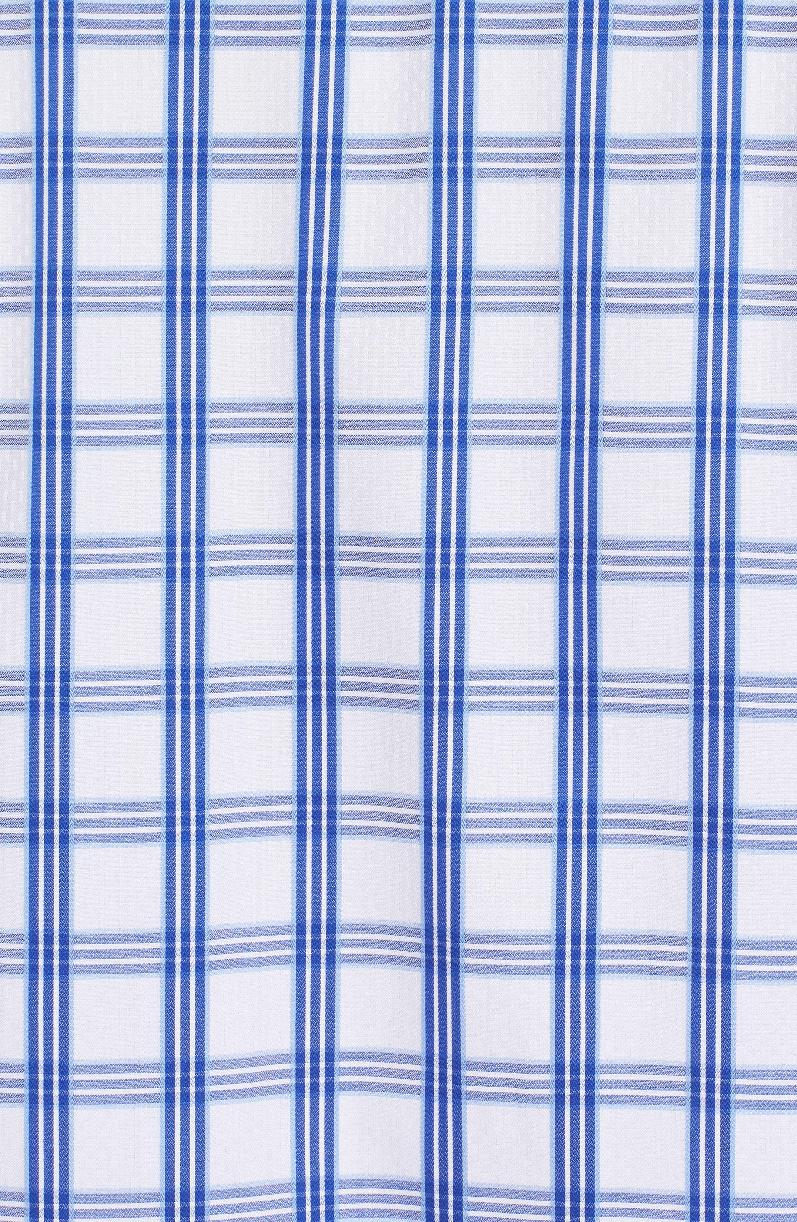 Classic Fit Sport Shirt,                             Alternate thumbnail 5, color,                             CLASSIC BLUE