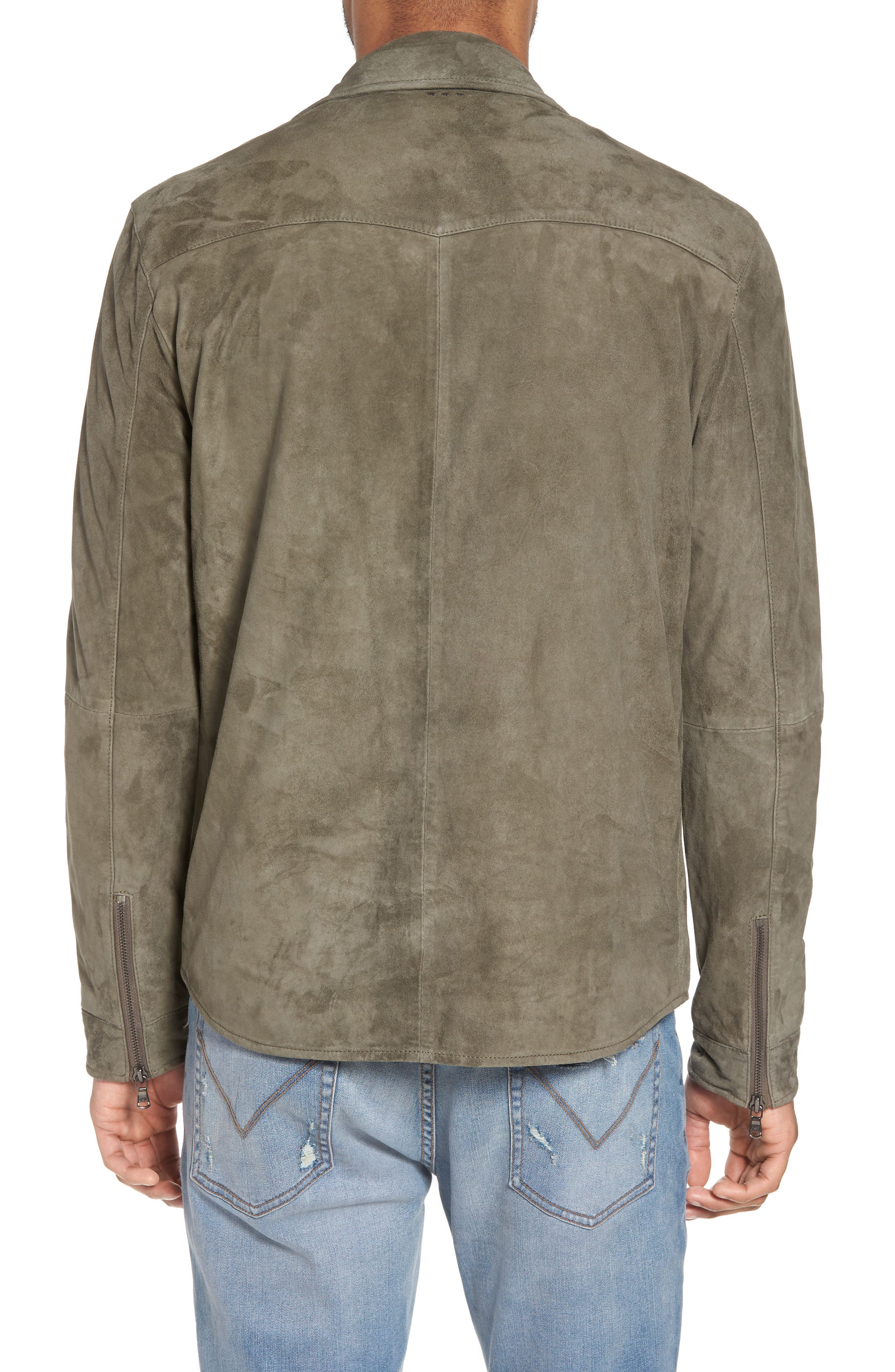 Suede Shirt Jacket,                             Alternate thumbnail 2, color,                             310
