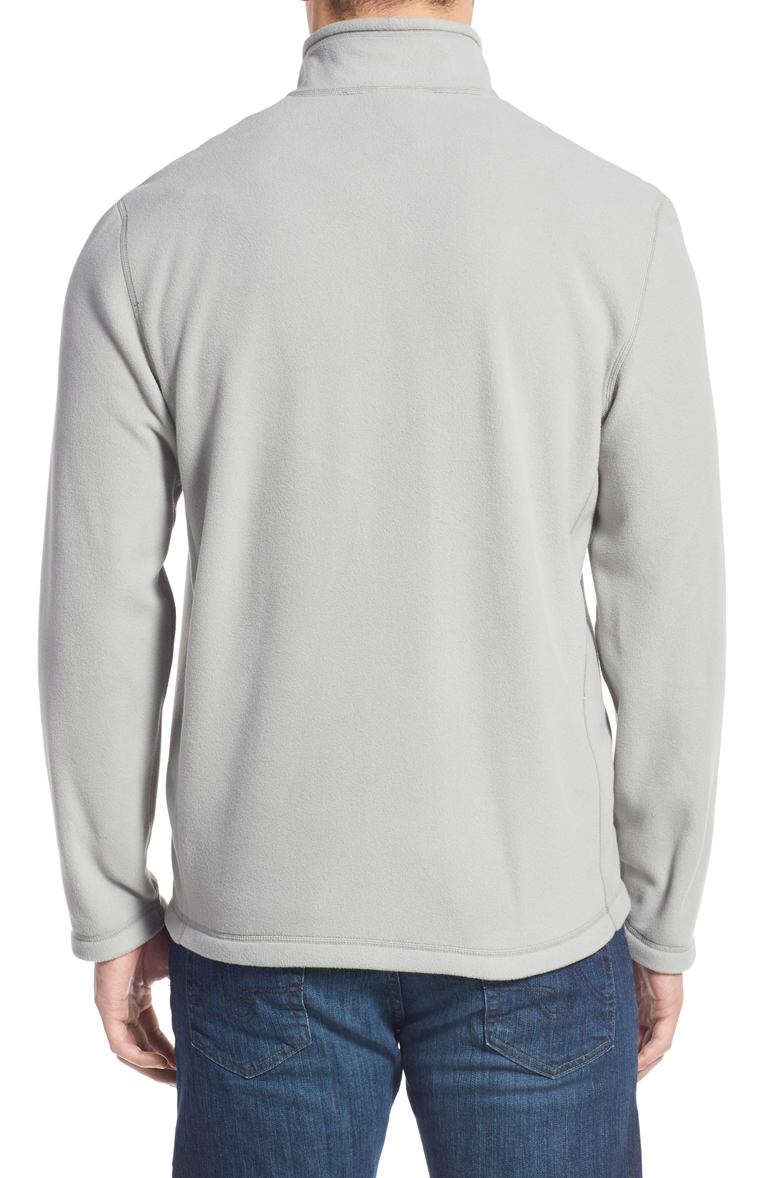 'TKA 100 Glacier' Quarter Zip Fleece Pullover,                             Alternate thumbnail 113, color,
