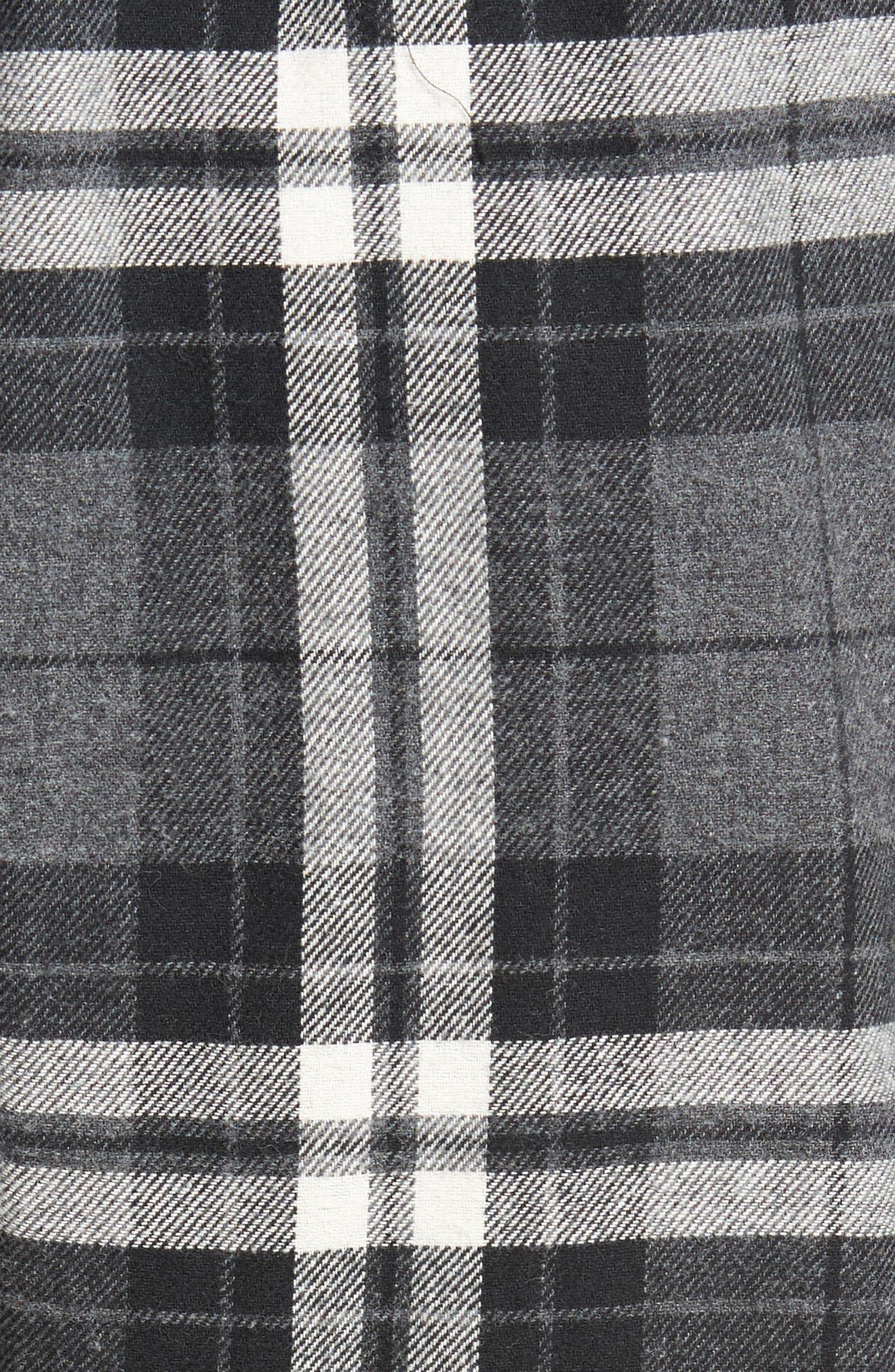 Flannel Pajama Jogger Pants,                             Alternate thumbnail 5, color,                             022