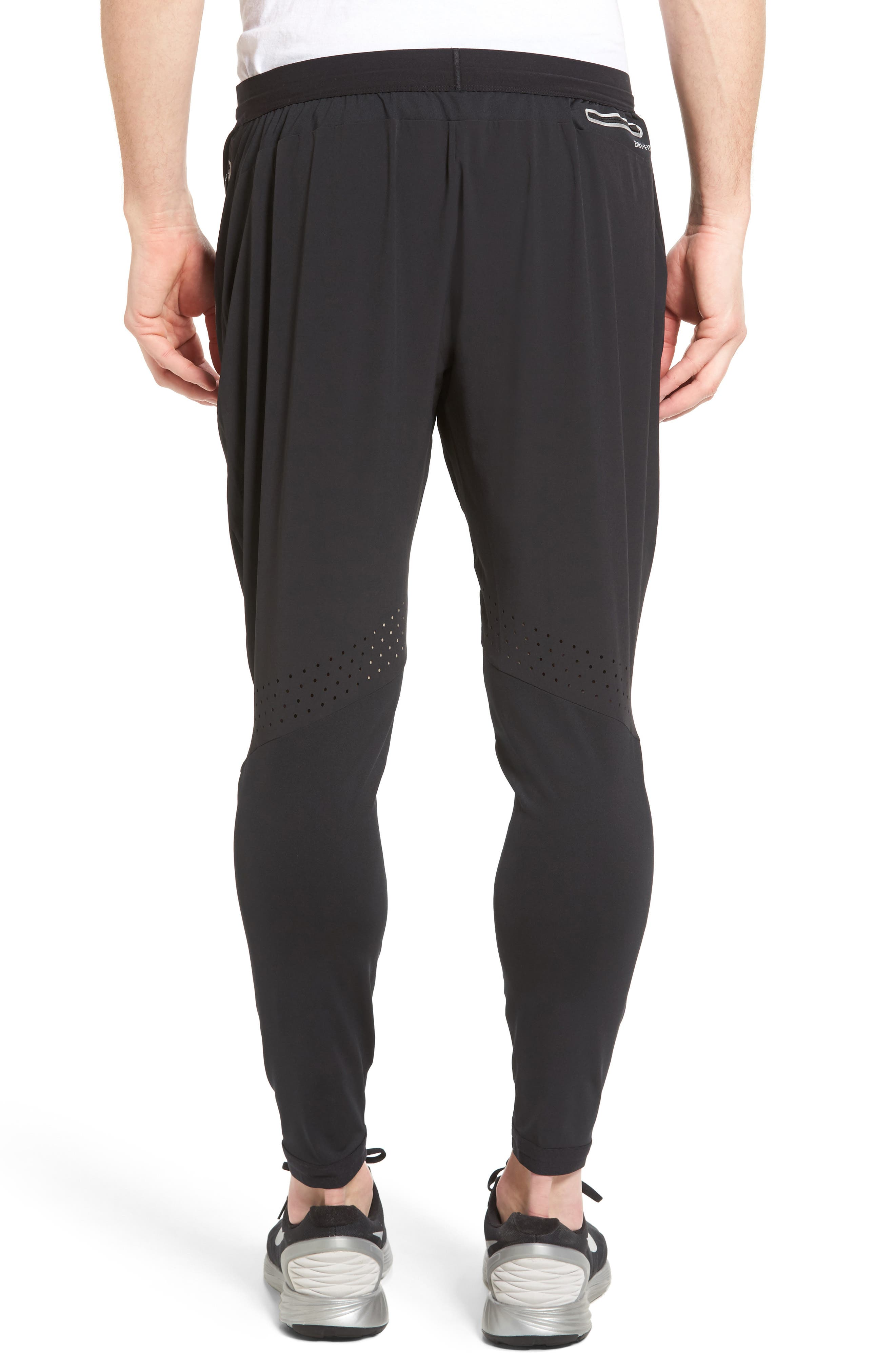 Flex Running Pants,                             Alternate thumbnail 2, color,                             BLACK/ PURE PLATINUM