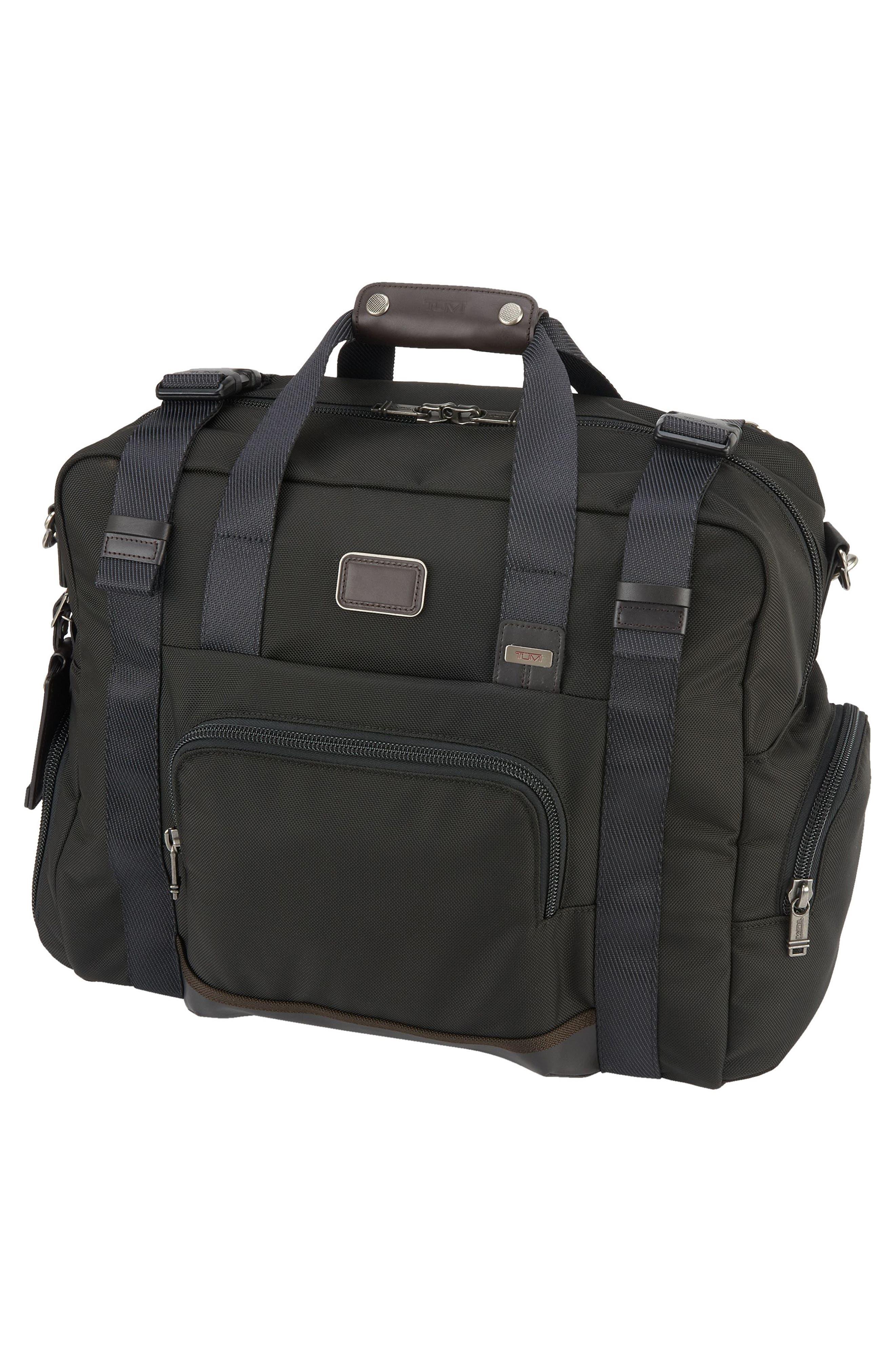 Alpha Bravo Buckner Duffel Bag,                             Alternate thumbnail 4, color,                             001