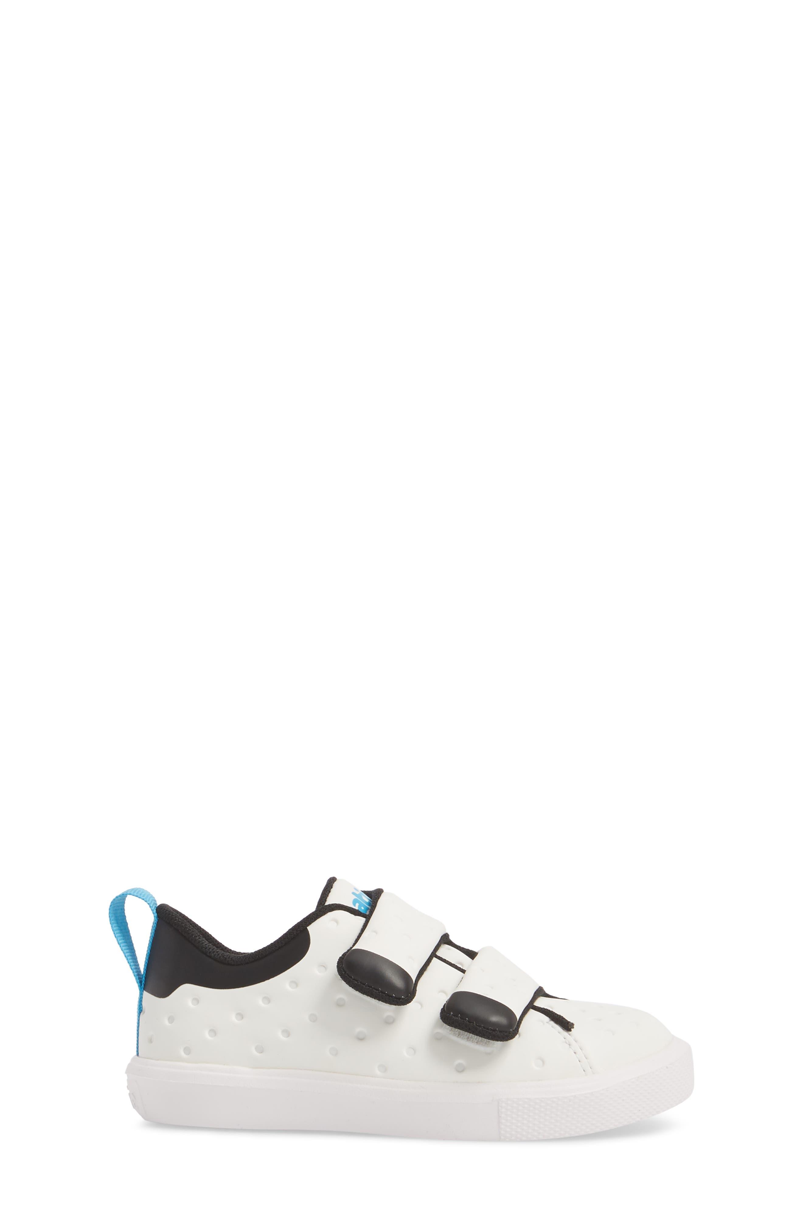 Monaco Sneaker,                             Alternate thumbnail 3, color,                             SHELL WHITE/ JIFFY BLACK