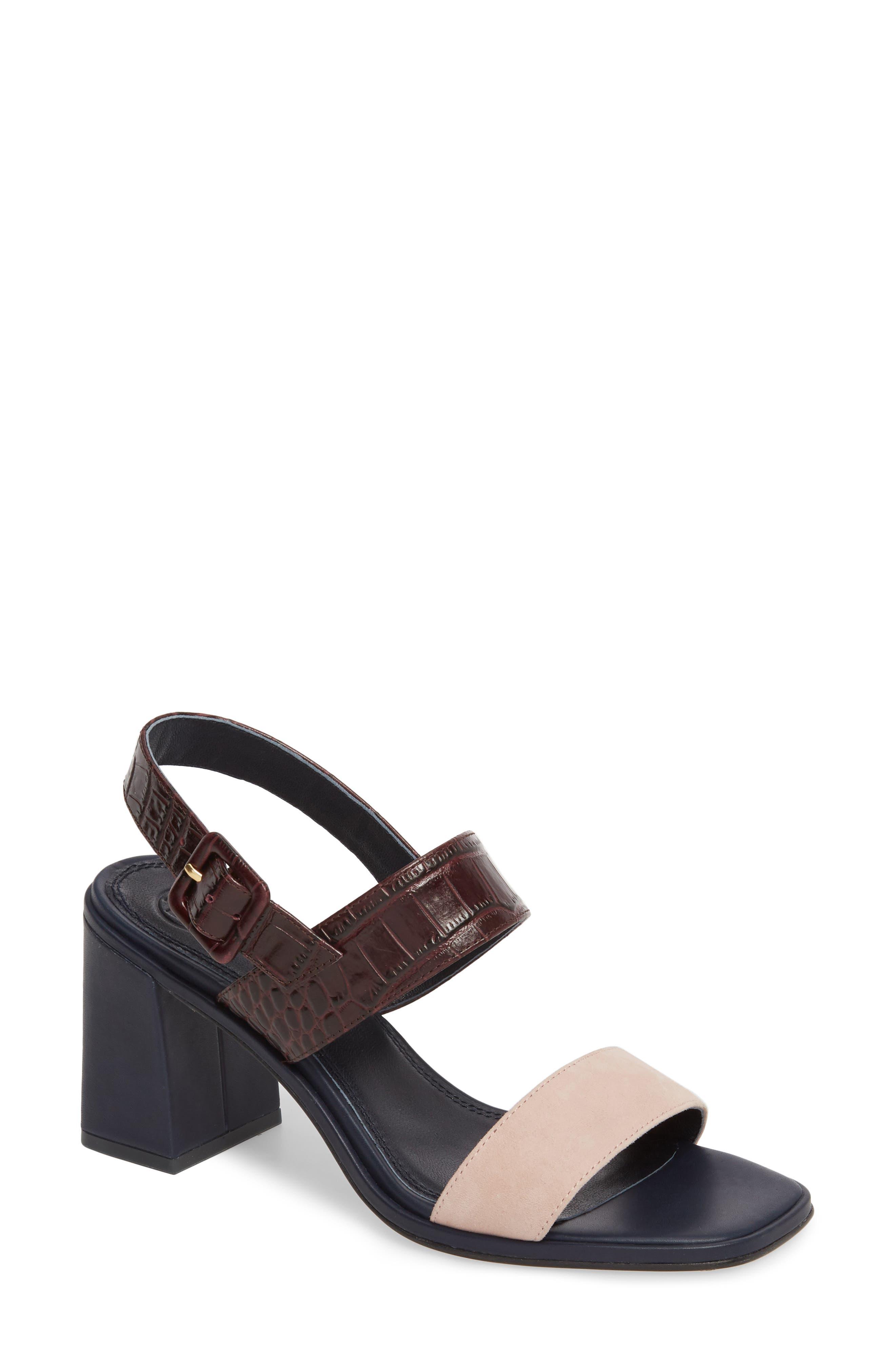 Delaney Double Strap Sandal,                             Main thumbnail 5, color,