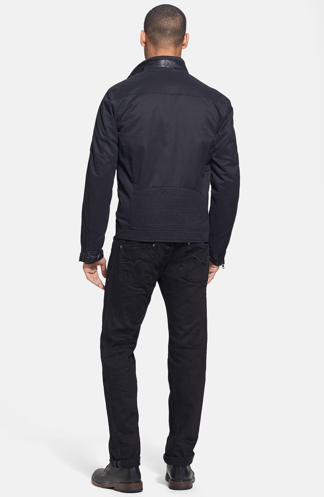 'Darron' Slim Fit Jeans,                             Alternate thumbnail 5, color,                             001