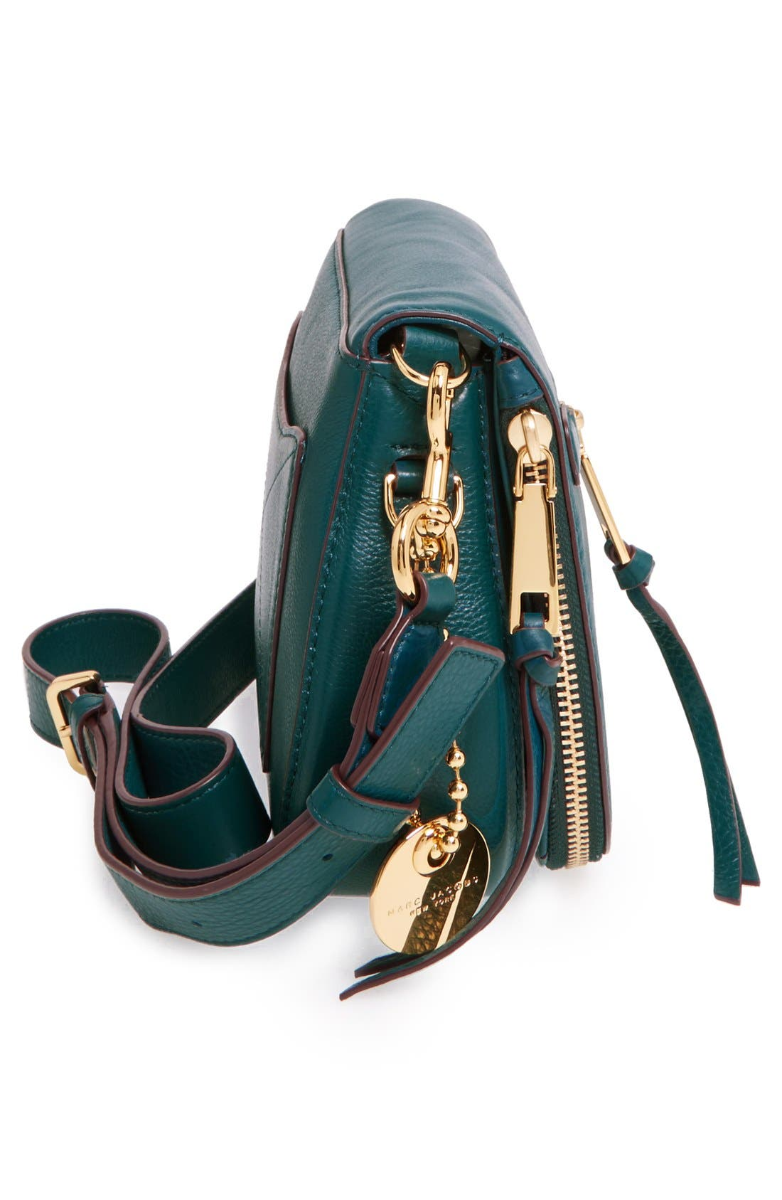Small Recruit Nomad Pebbled Leather Crossbody Bag,                             Alternate thumbnail 64, color,