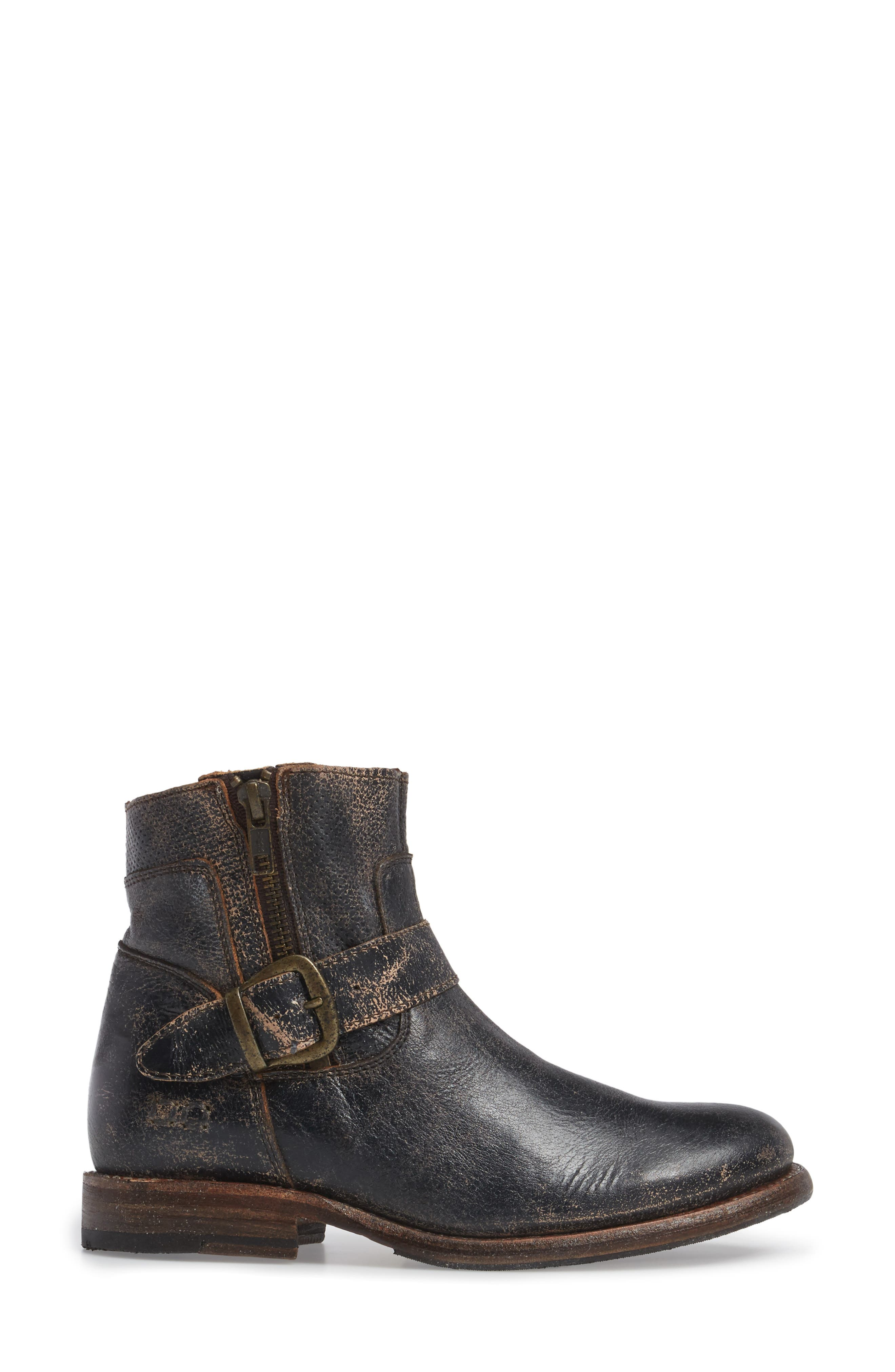 Becca Buckle Boot,                             Alternate thumbnail 3, color,                             008