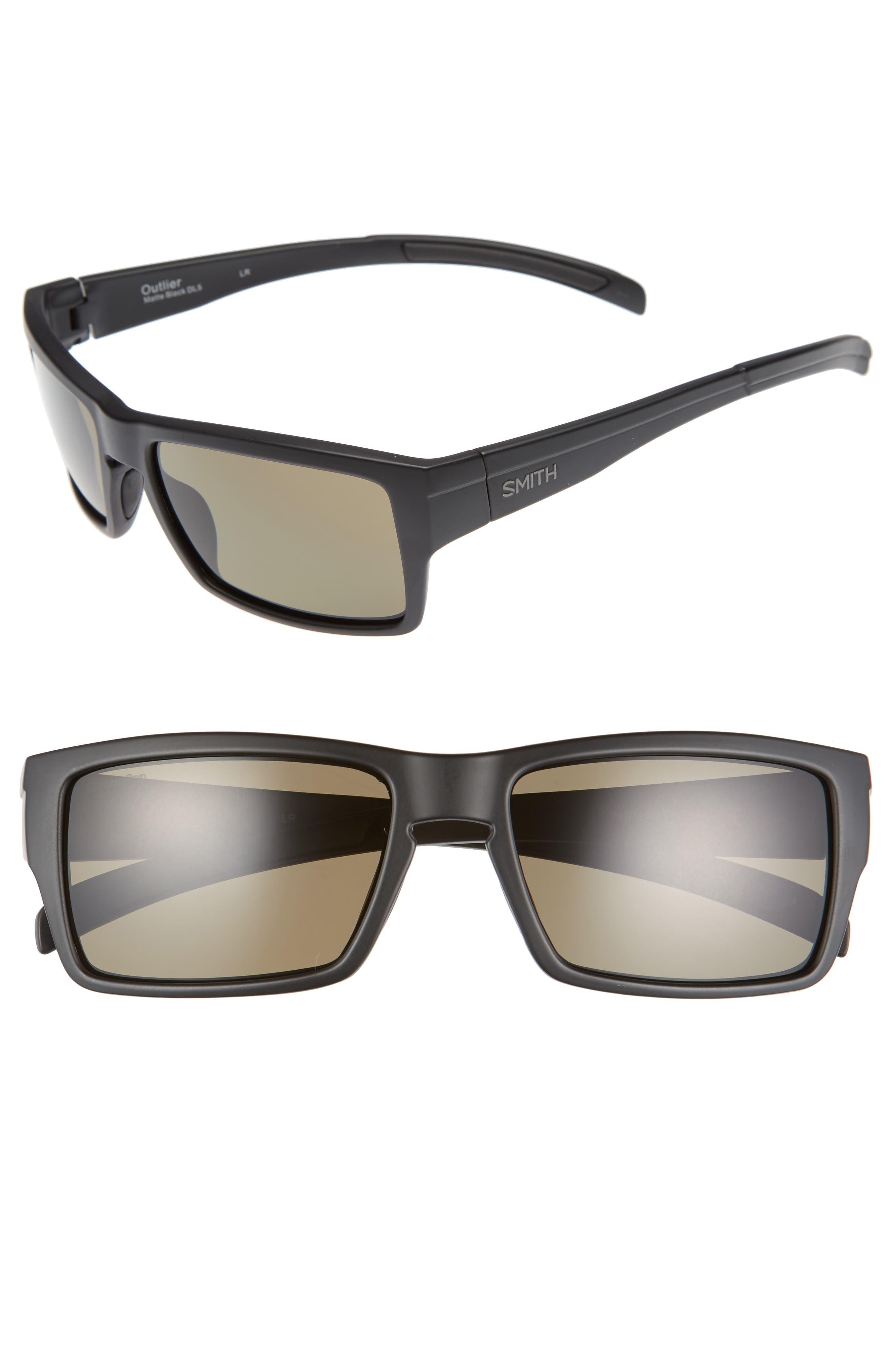 Outlier 56mm ChromaPop Polarized Sunglasses,                             Main thumbnail 1, color,