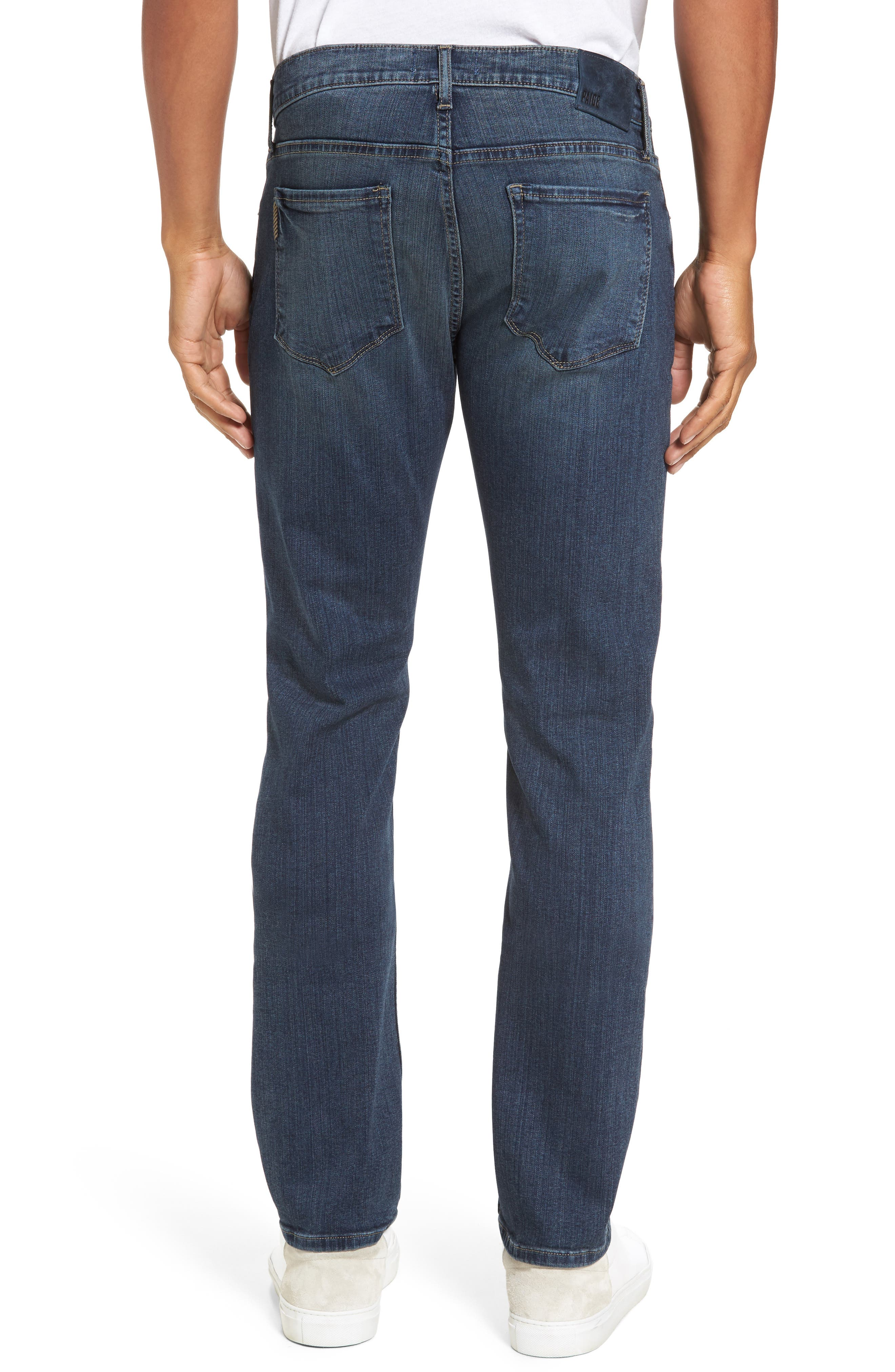 Transcend - Federal Slim Straight Leg Jeans,                             Alternate thumbnail 2, color,                             400