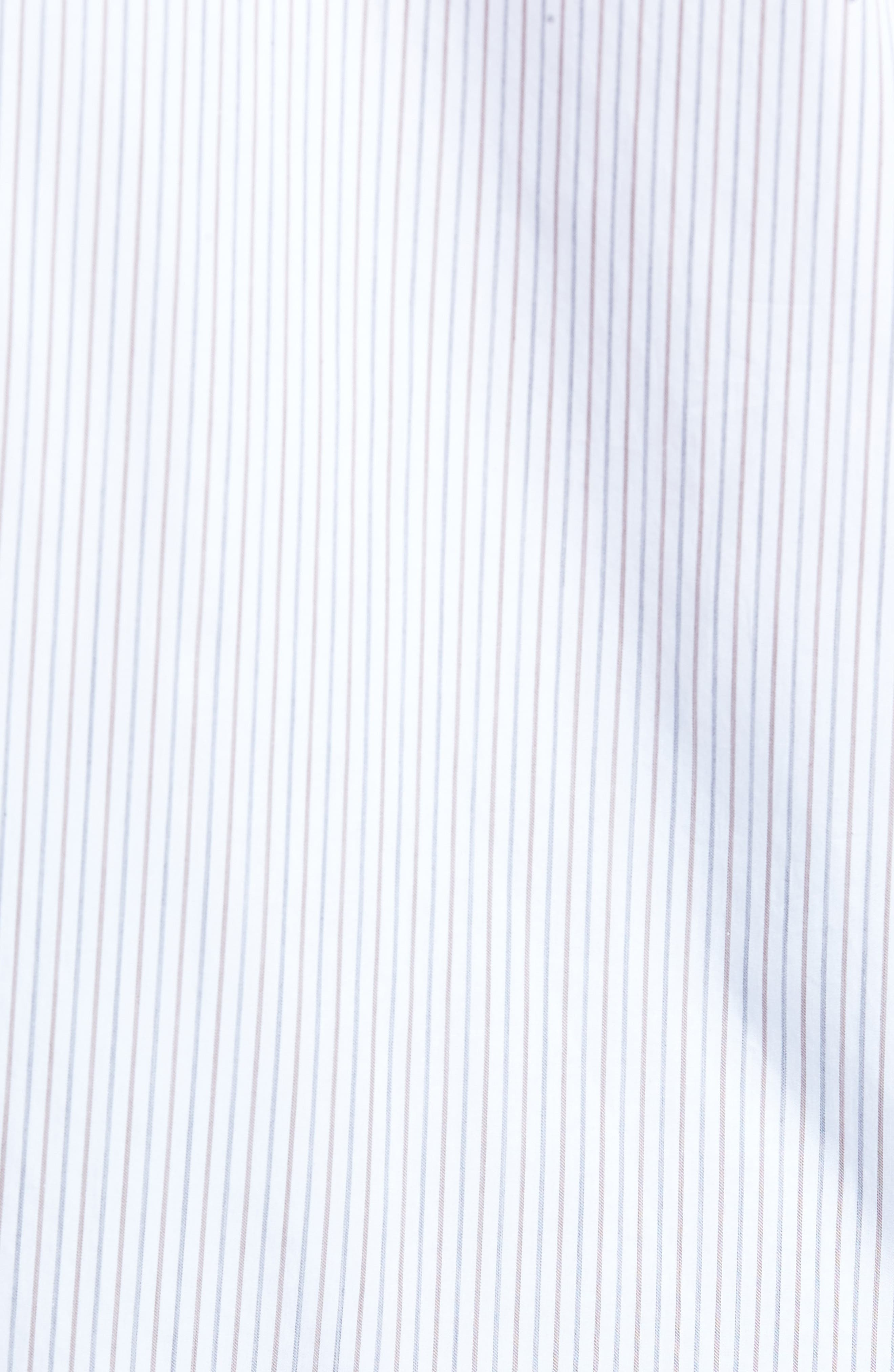 Classic Fit Stripe Sport Shirt,                             Alternate thumbnail 5, color,                             210
