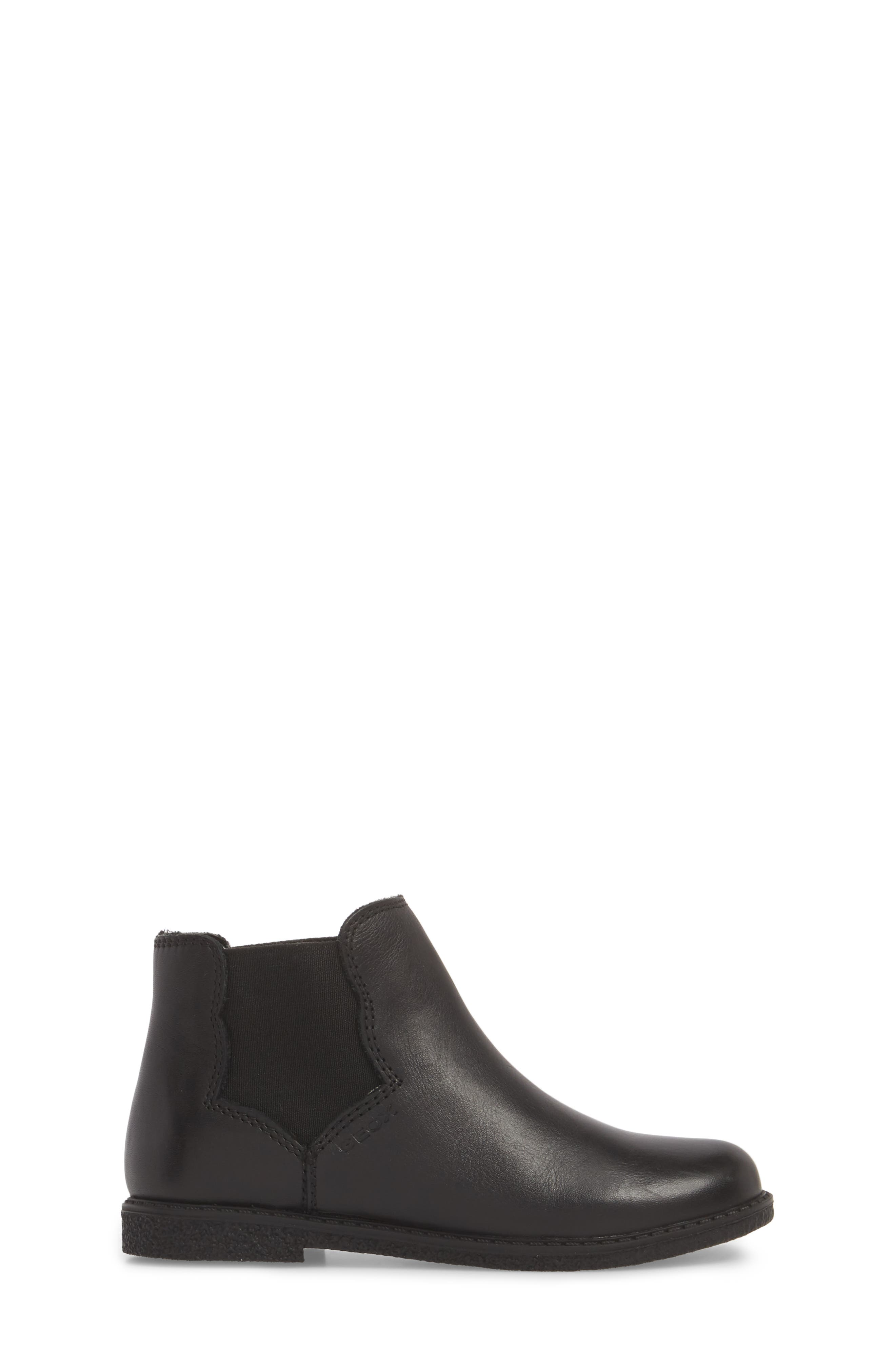 Shawntel Chelsea Boot,                             Alternate thumbnail 3, color,                             BLACK