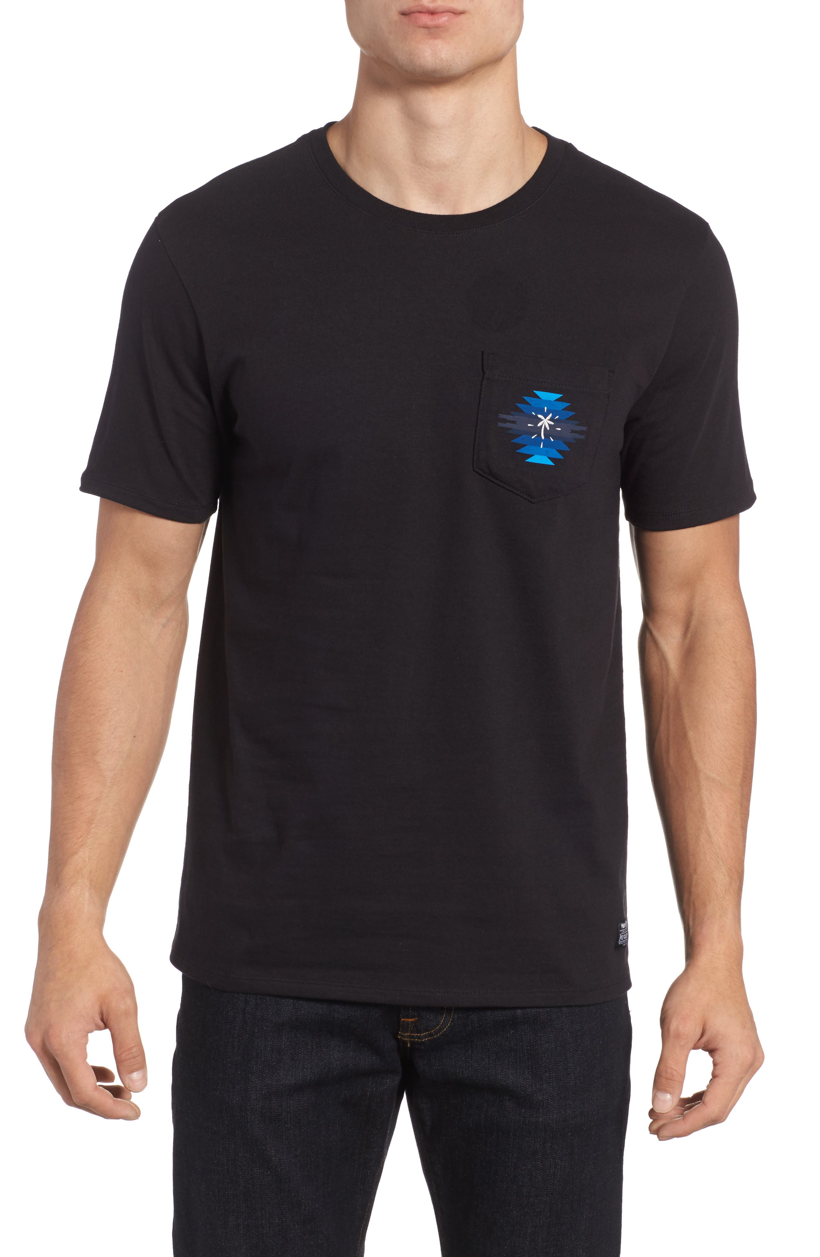 x Pendleton Pocket T-Shirt,                         Main,                         color, 010