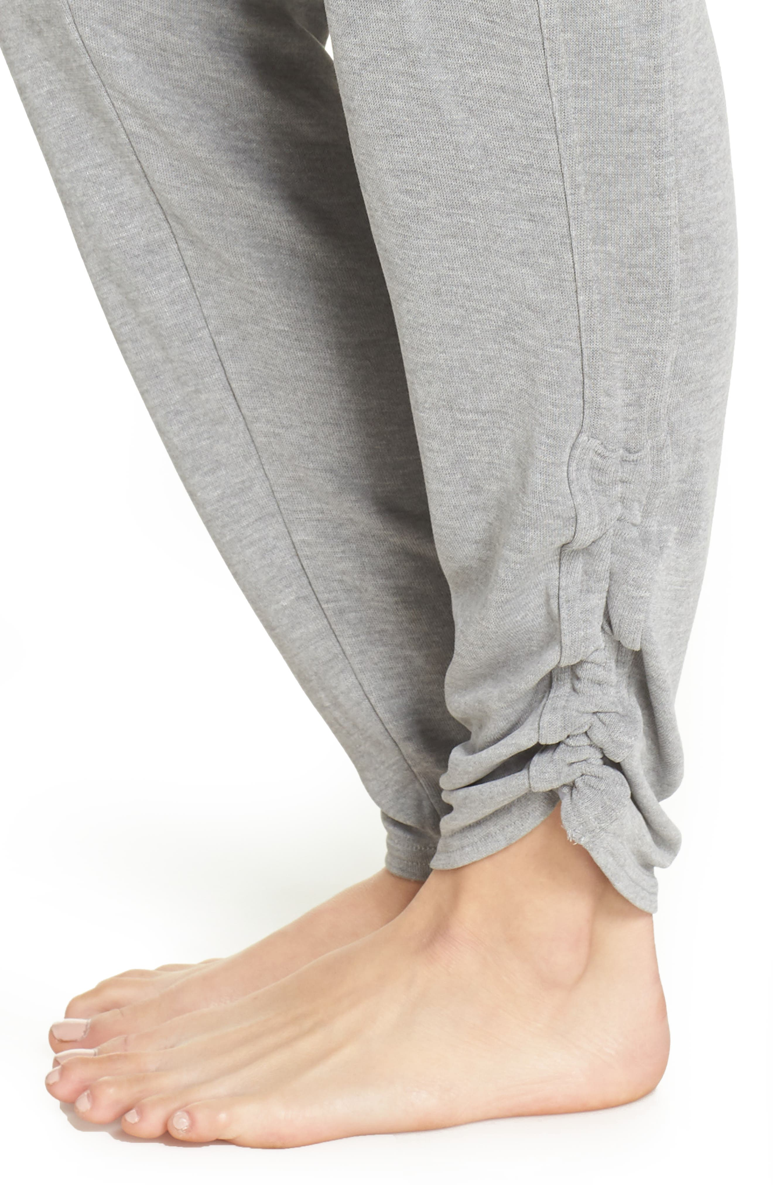 Free People FP Movement Ready Go Jogger Pants,                             Alternate thumbnail 4, color,                             GREY COMBO