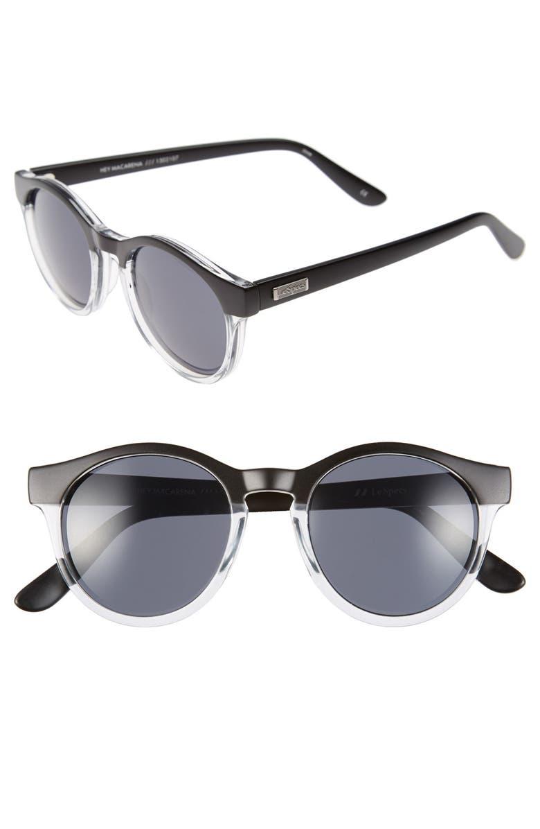 f27e2ffcb0 Le Specs  Hey Macarena  51mm Round Sunglasses