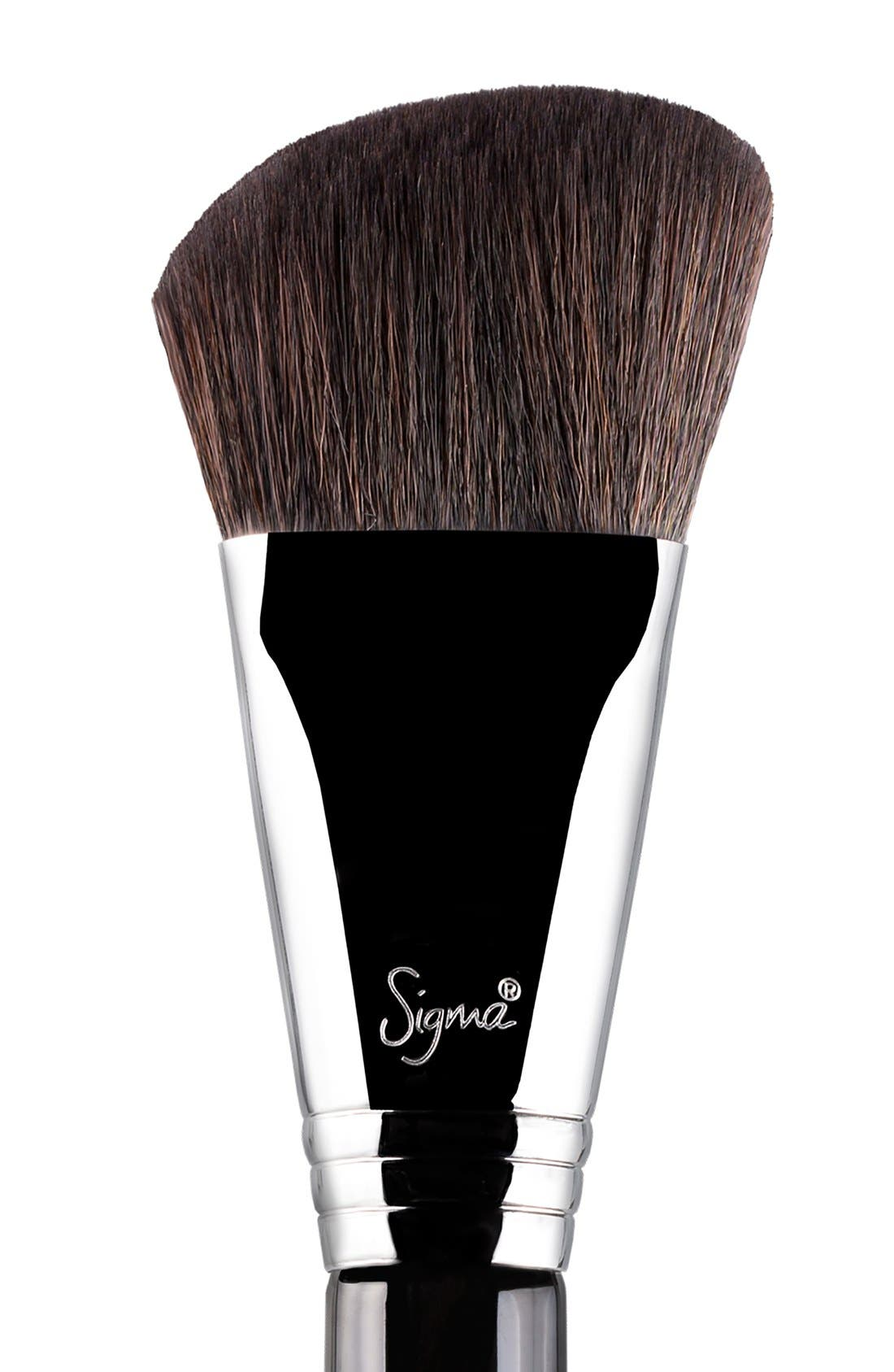 F23 Soft Angled Contour<sup>™</sup> Brush,                             Alternate thumbnail 2, color,                             NO COLOR