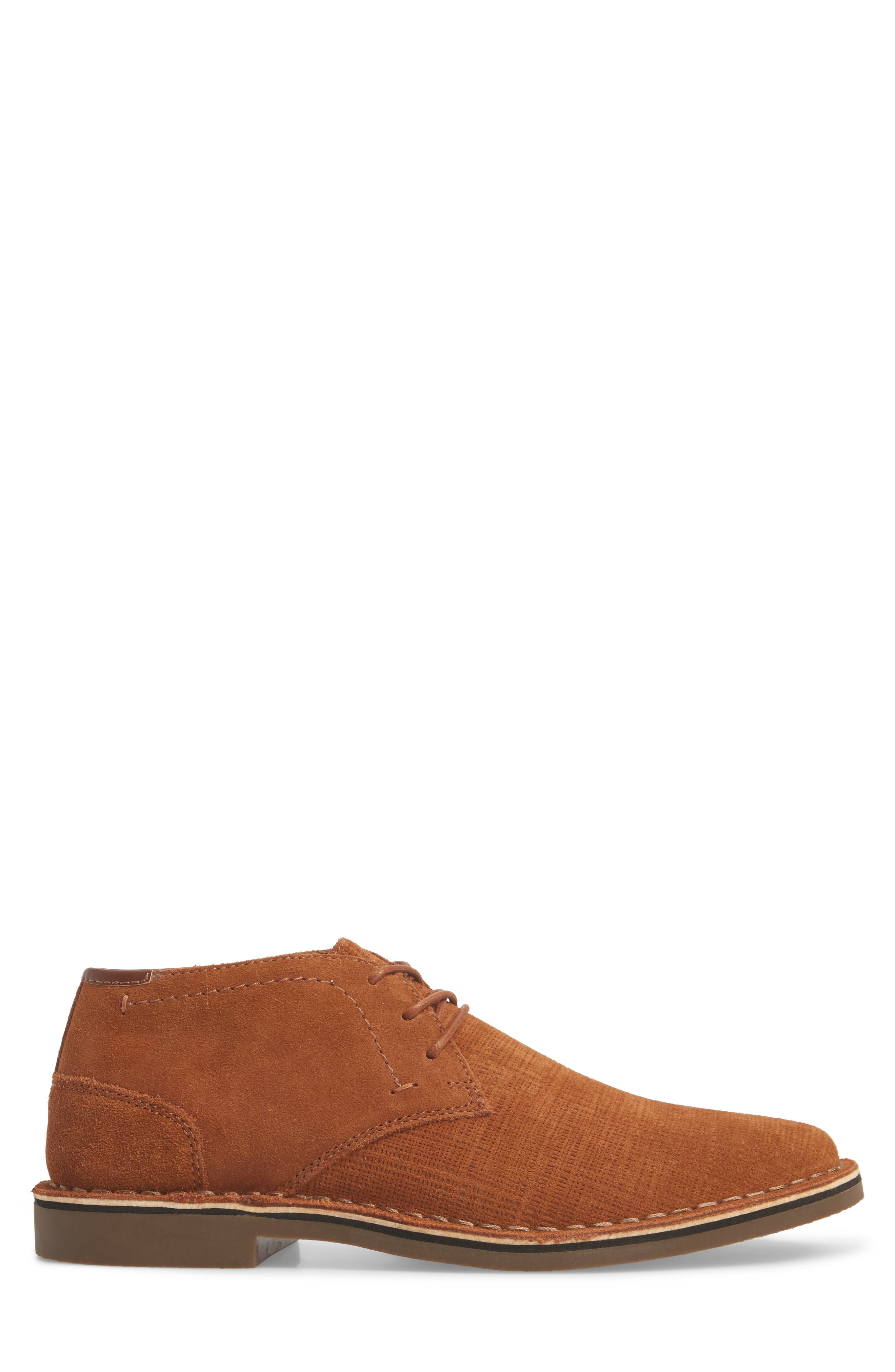 Desert Sun Textured Chukka Boot,                             Alternate thumbnail 5, color,