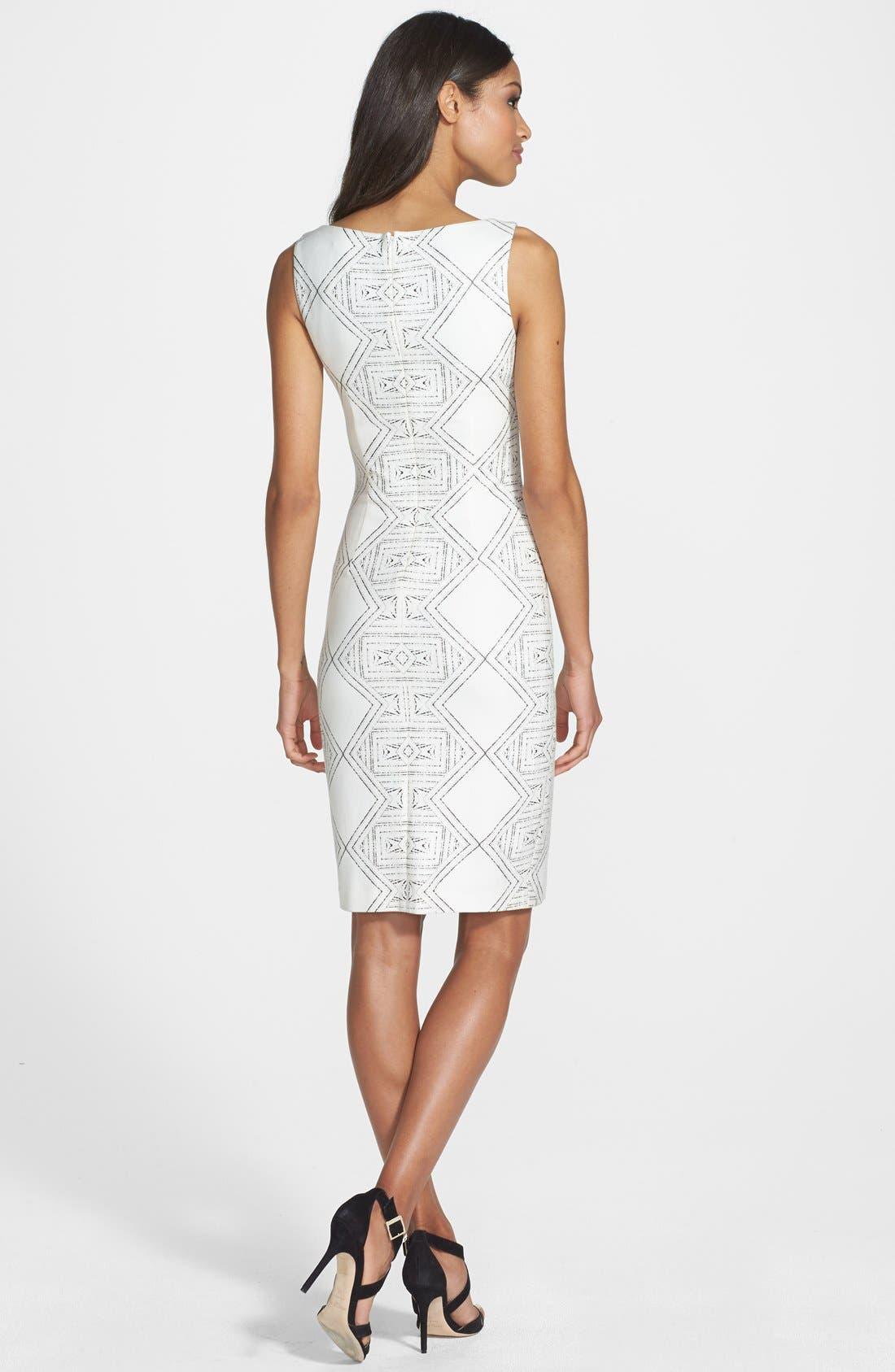 'Eloise' Sleeveless Print Dress,                             Alternate thumbnail 2, color,                             125