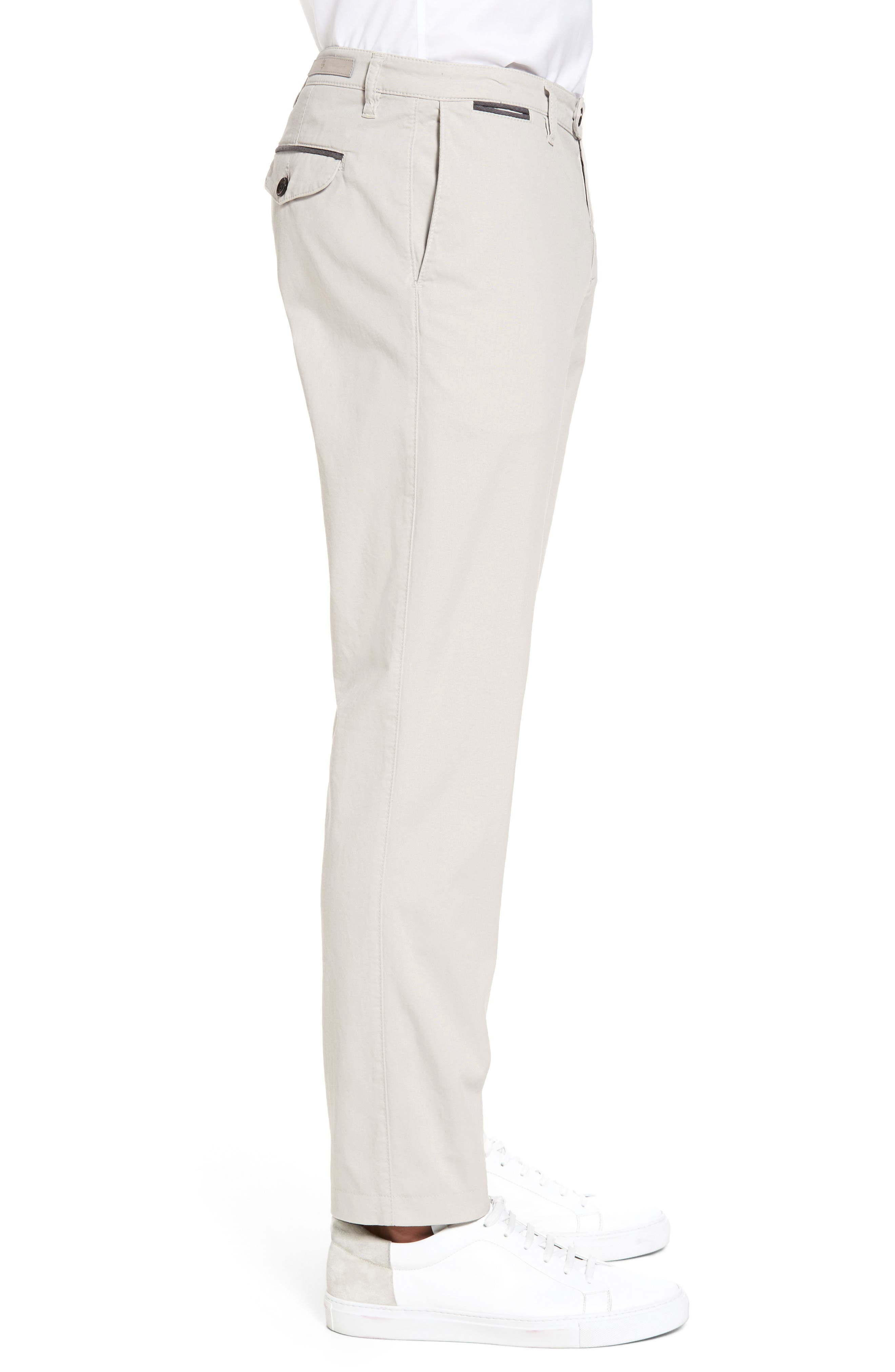 Slim Fit Chino Pants,                             Alternate thumbnail 3, color,                             SAND
