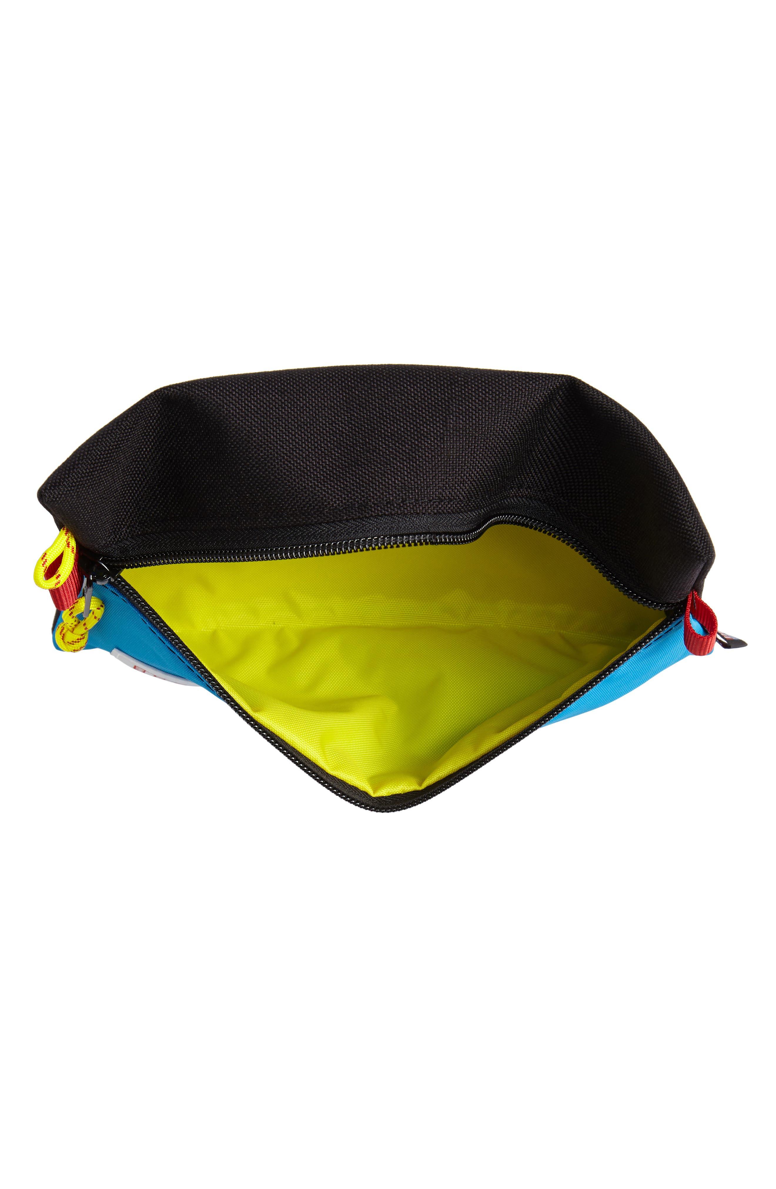 TopoDesigns Accessory Bag,                             Alternate thumbnail 3, color,                             BLACK/ ROYAL