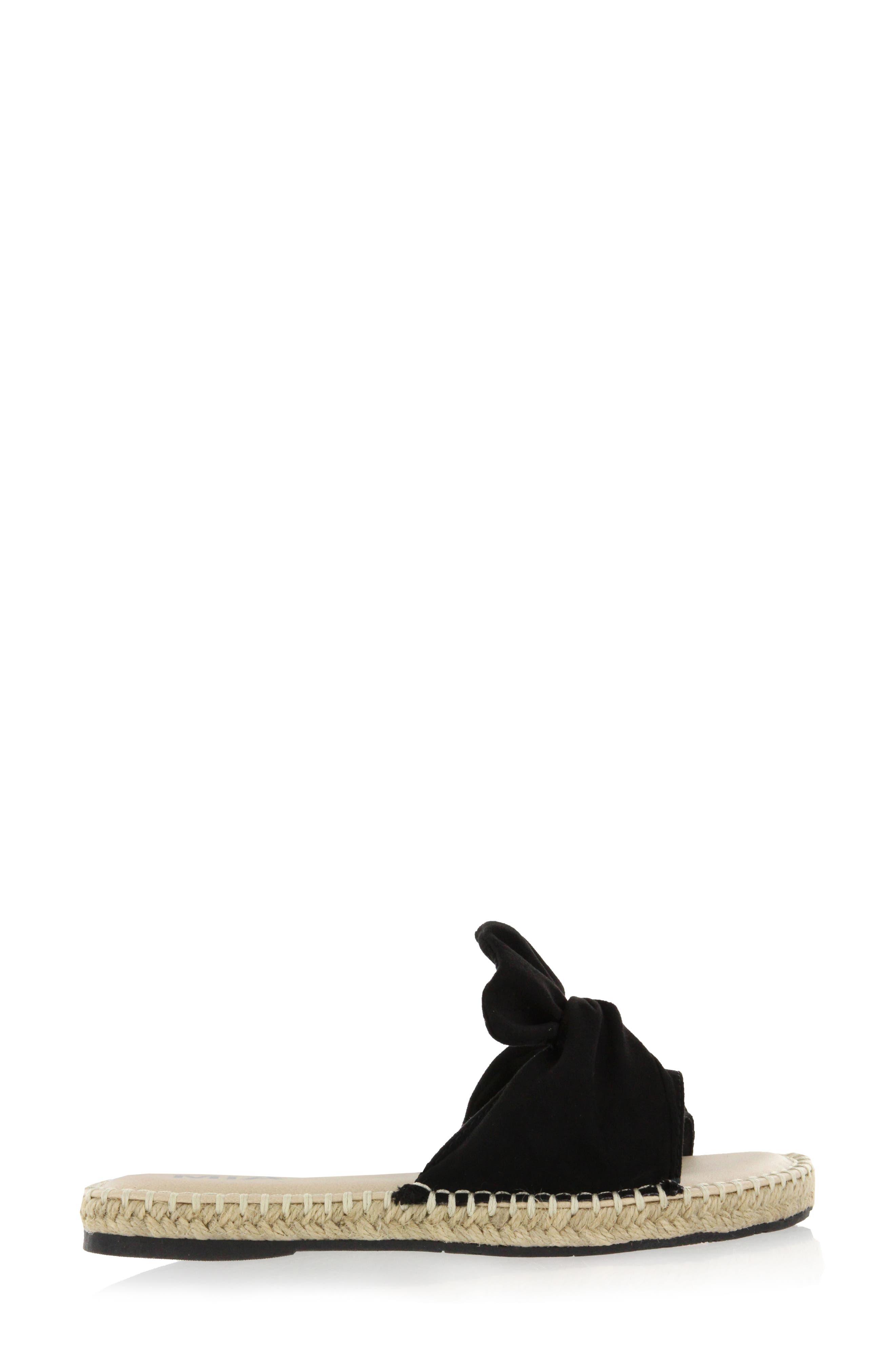 Kensi Knotted Slide Sandal,                             Alternate thumbnail 9, color,