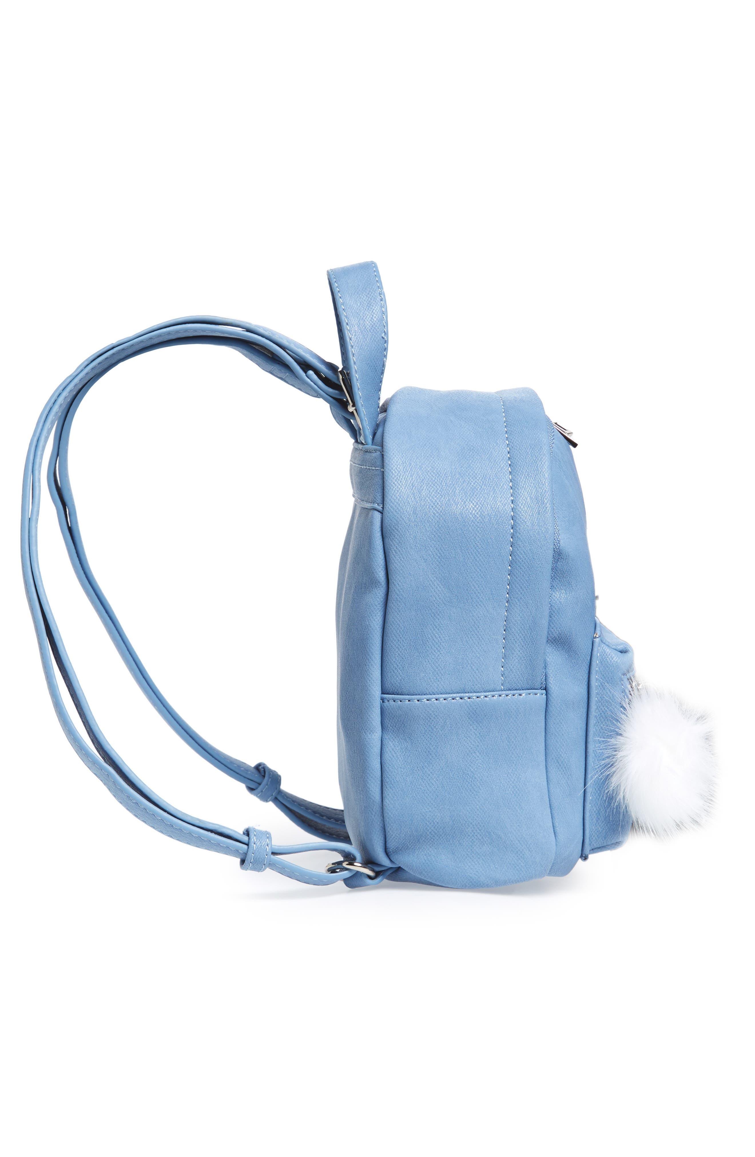 Faux Leather Mini Backpack,                             Alternate thumbnail 35, color,