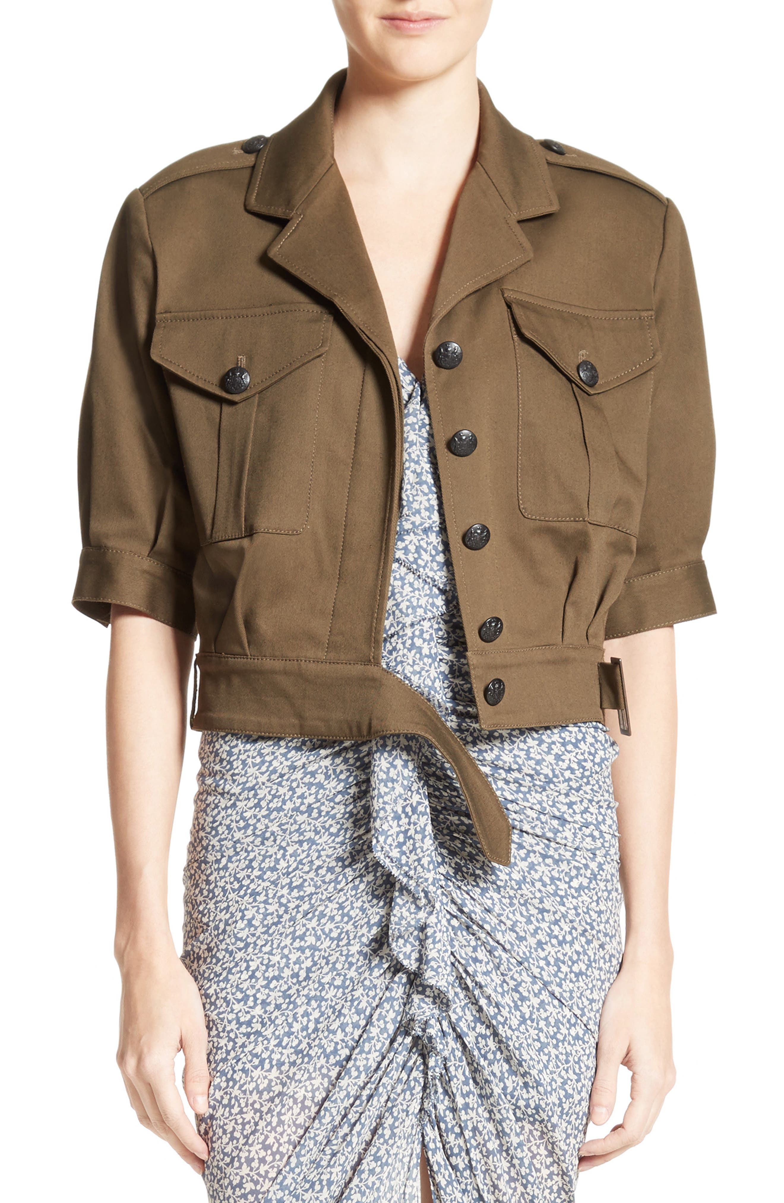 Fleet Military Jacket,                             Main thumbnail 1, color,                             398