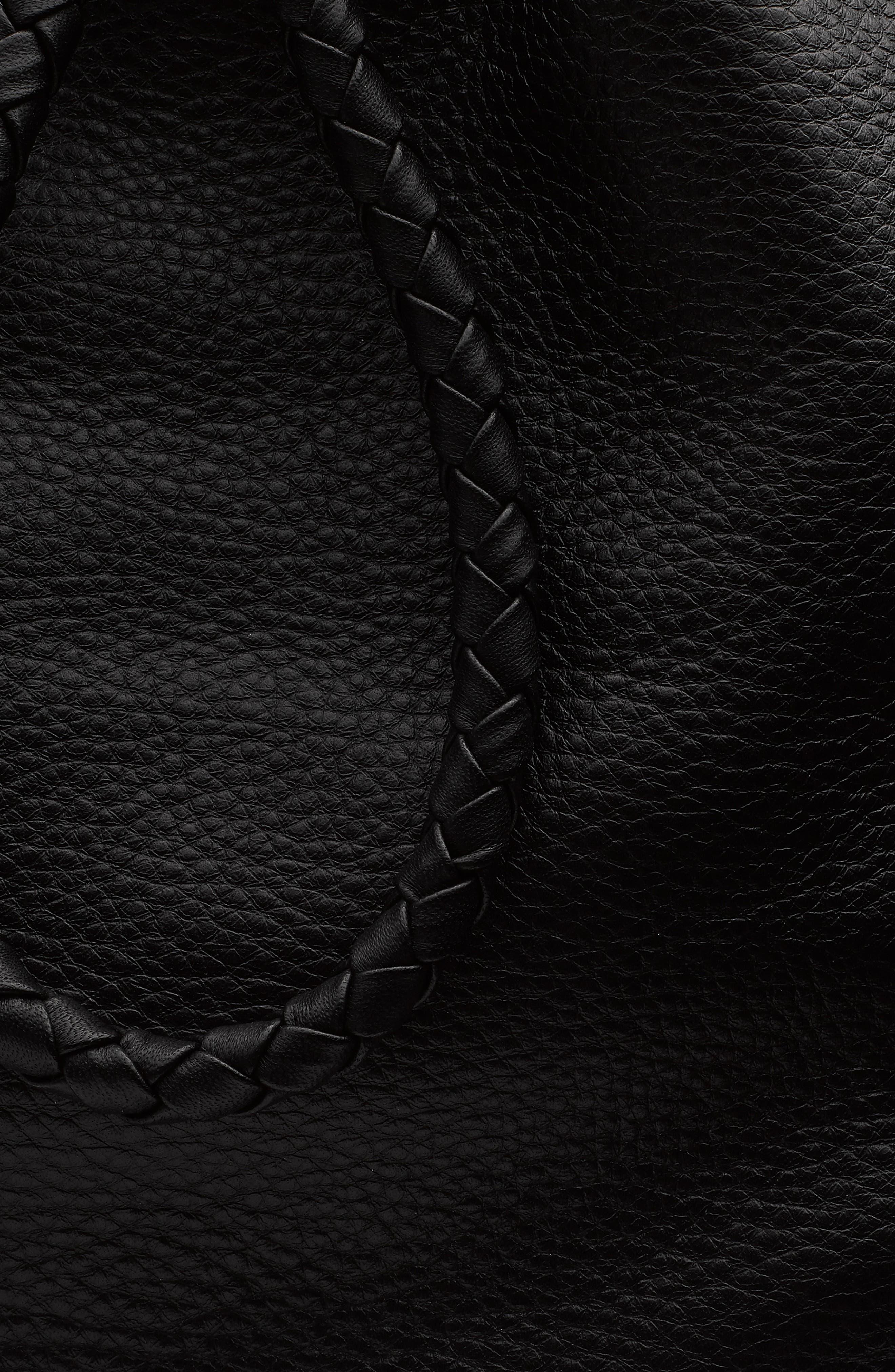 RAG & BONE,                             Loner Leather Backpack,                             Alternate thumbnail 5, color,                             BLACK