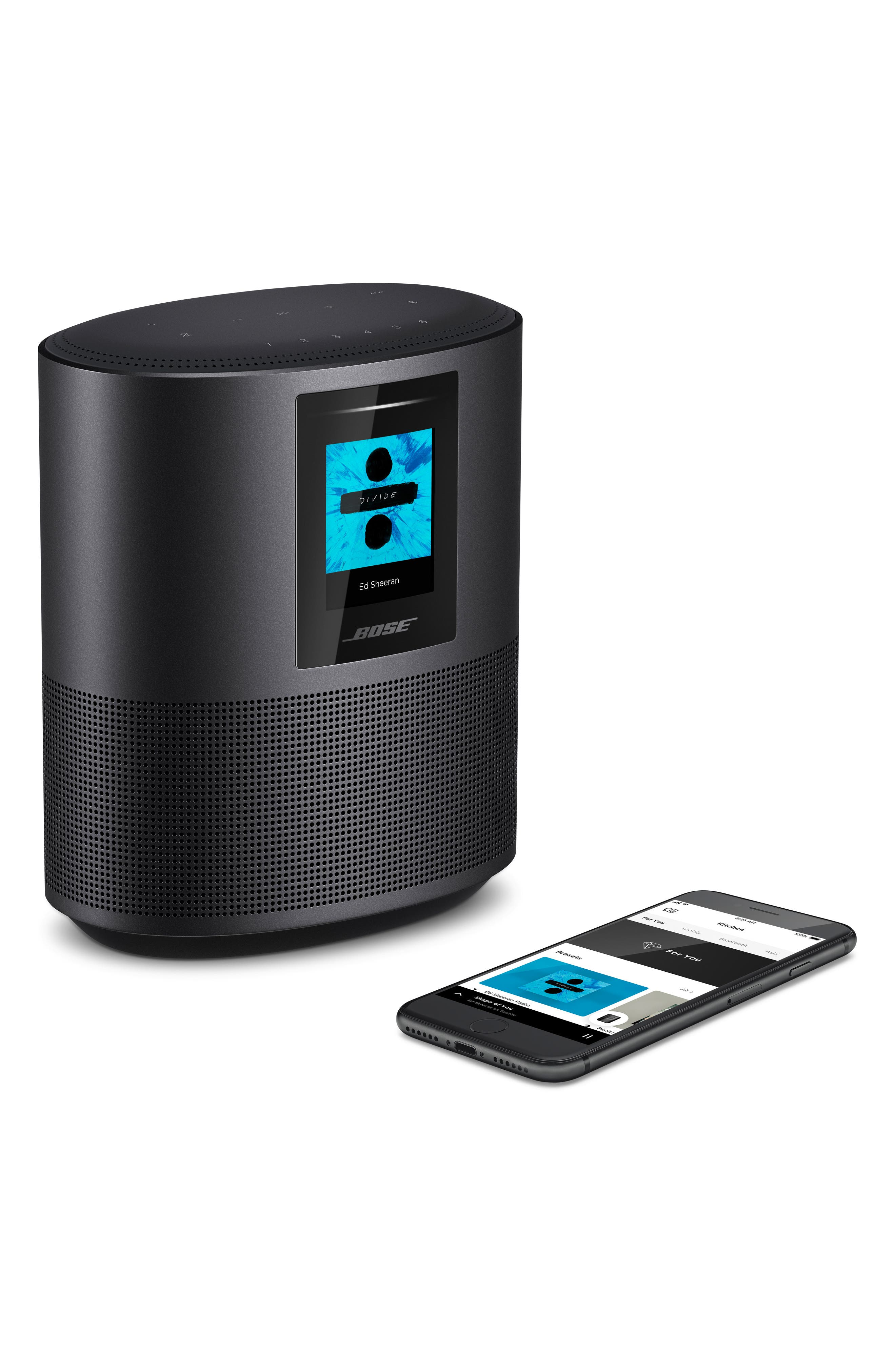 Home 500 Bluetooth<sup>®</sup> Speaker,                             Alternate thumbnail 4, color,                             BLACK