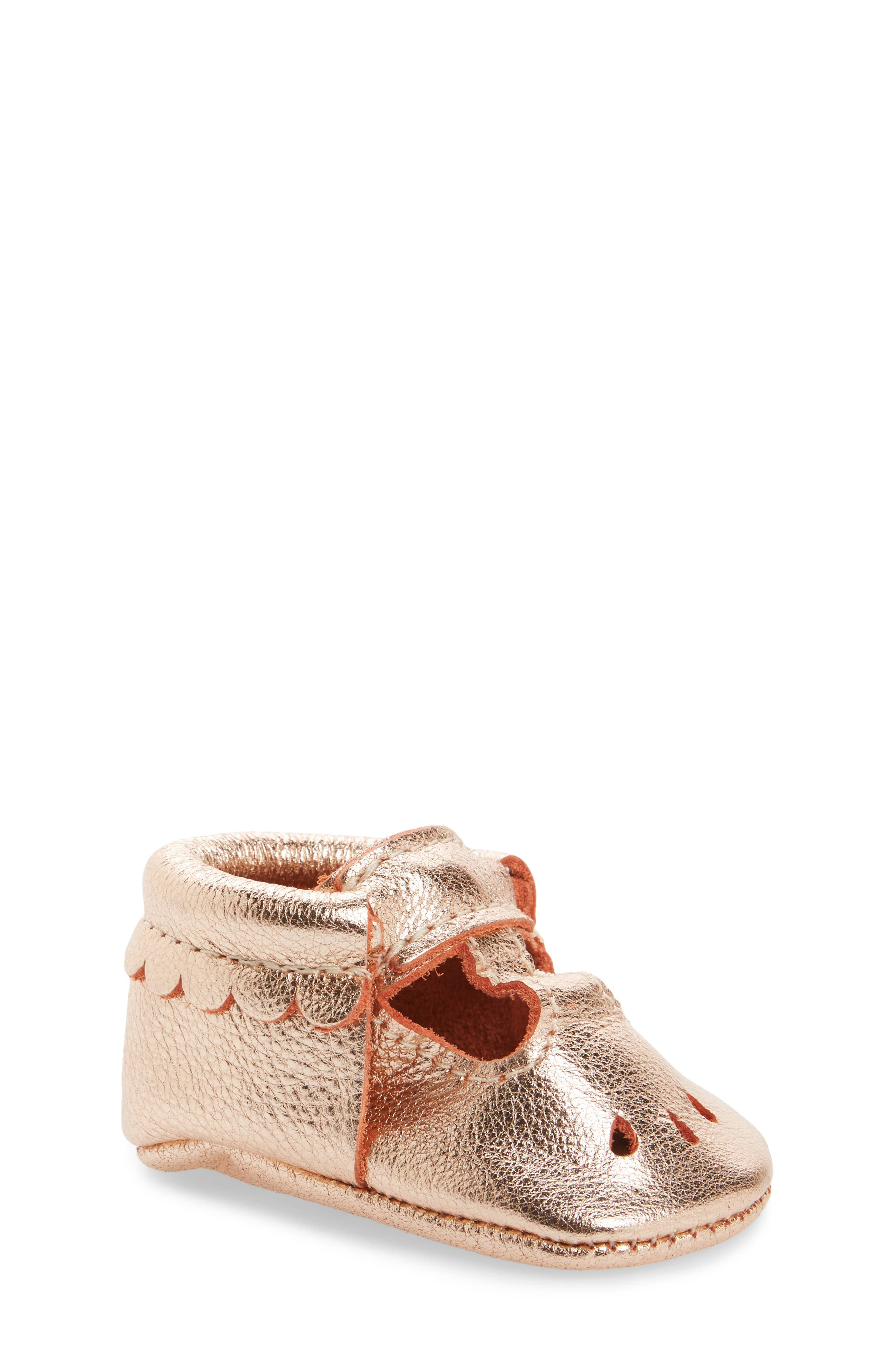 Perforated Mary Jane Moccasin,                         Main,                         color, 220