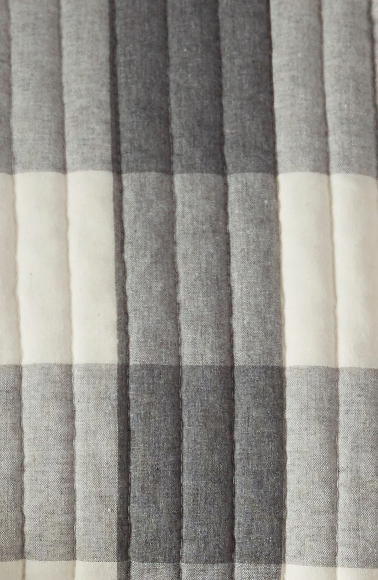 Buffalo Check Quilt,                             Alternate thumbnail 3, color,                             GREY