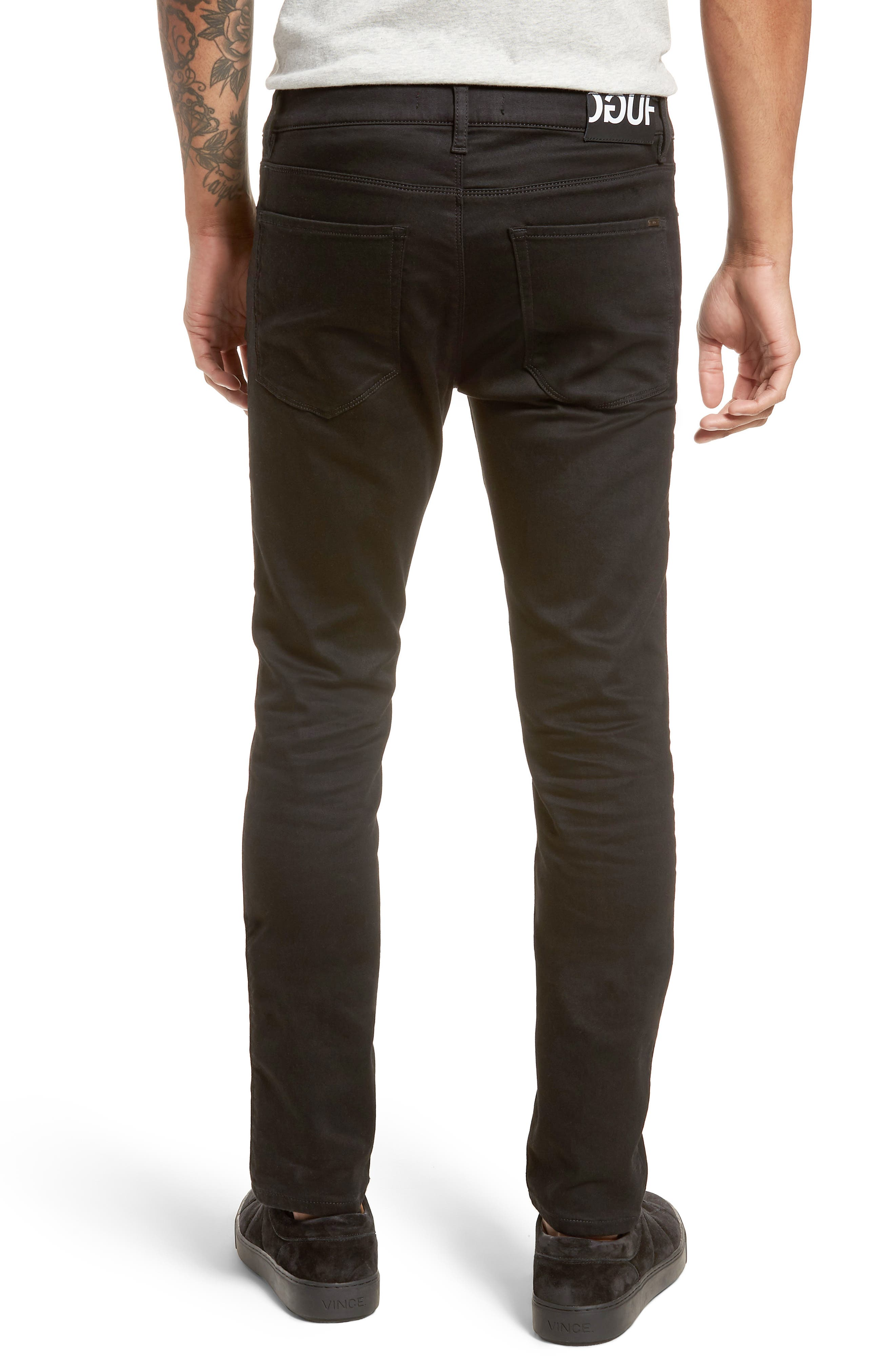 734 Skinny Fit Jeans,                             Alternate thumbnail 2, color,                             001