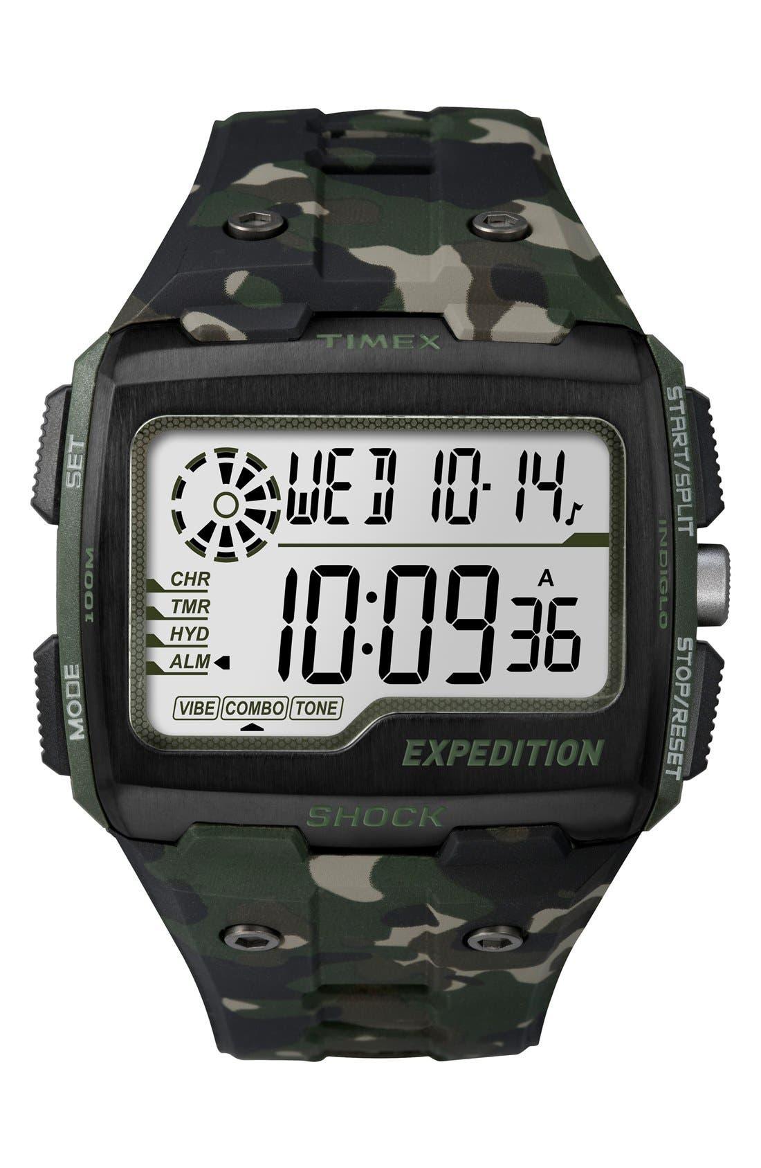 Resin Digital Watch, 50mm,                         Main,                         color, 300