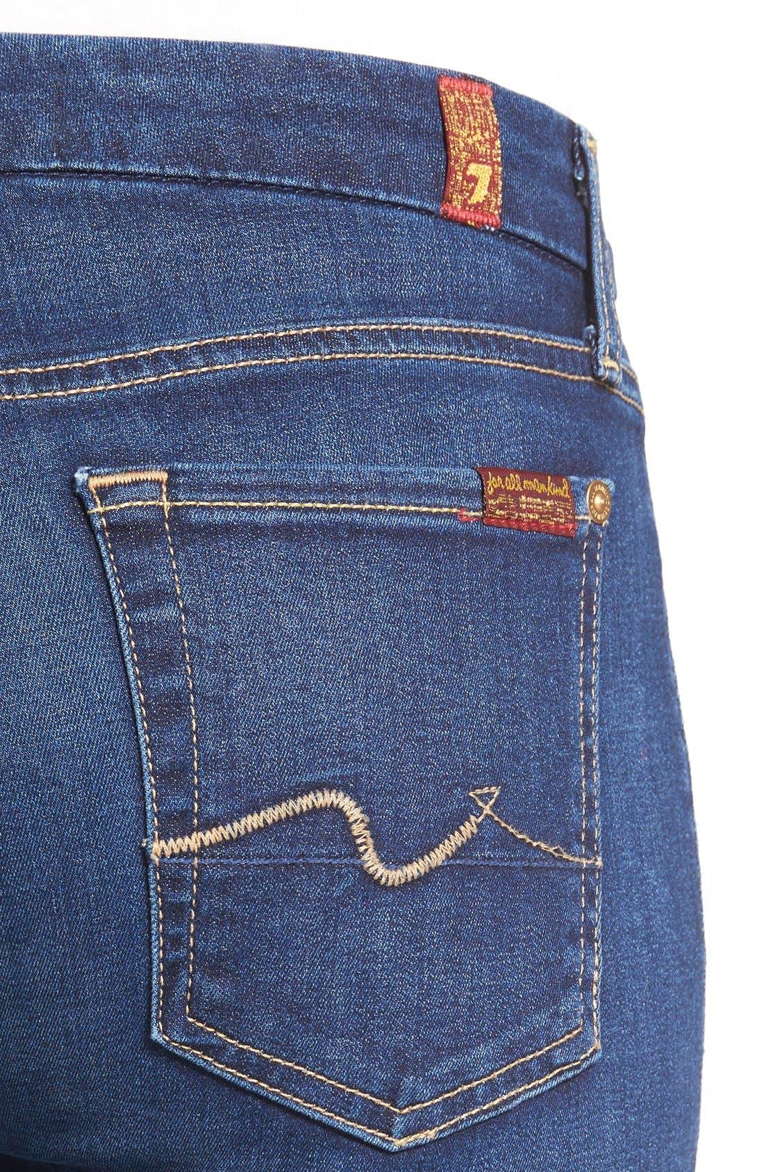 b(air) Skinny Jeans,                             Alternate thumbnail 7, color,                             400