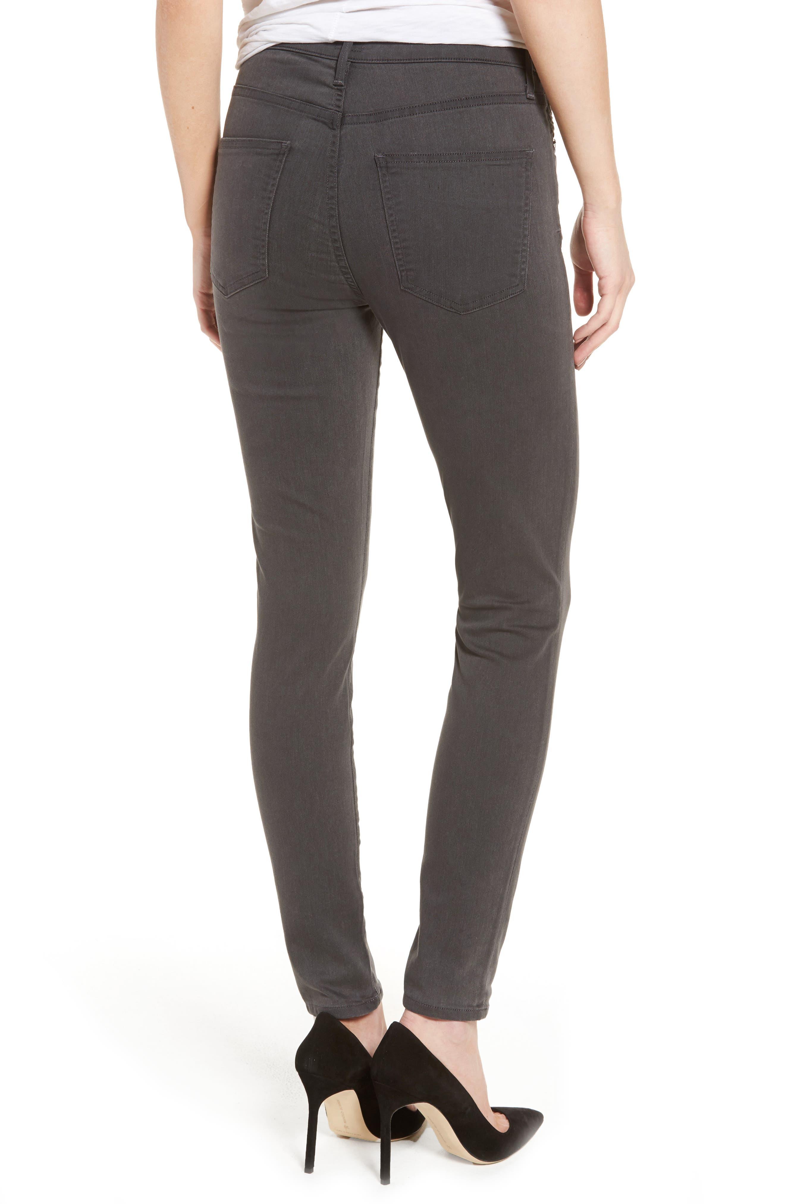 Rocket Petite High Waist Skinny Jeans,                             Alternate thumbnail 2, color,                             034