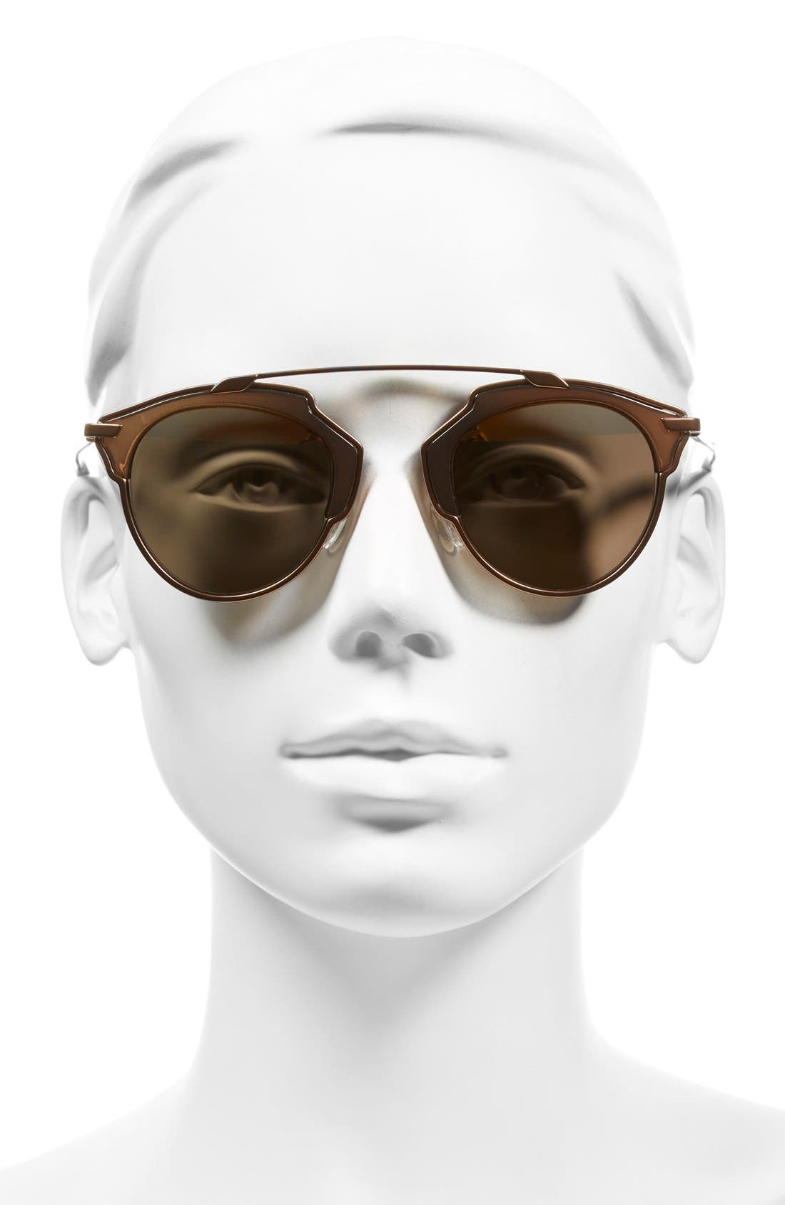 So Real 48mm Brow Bar Sunglasses,                             Alternate thumbnail 50, color,
