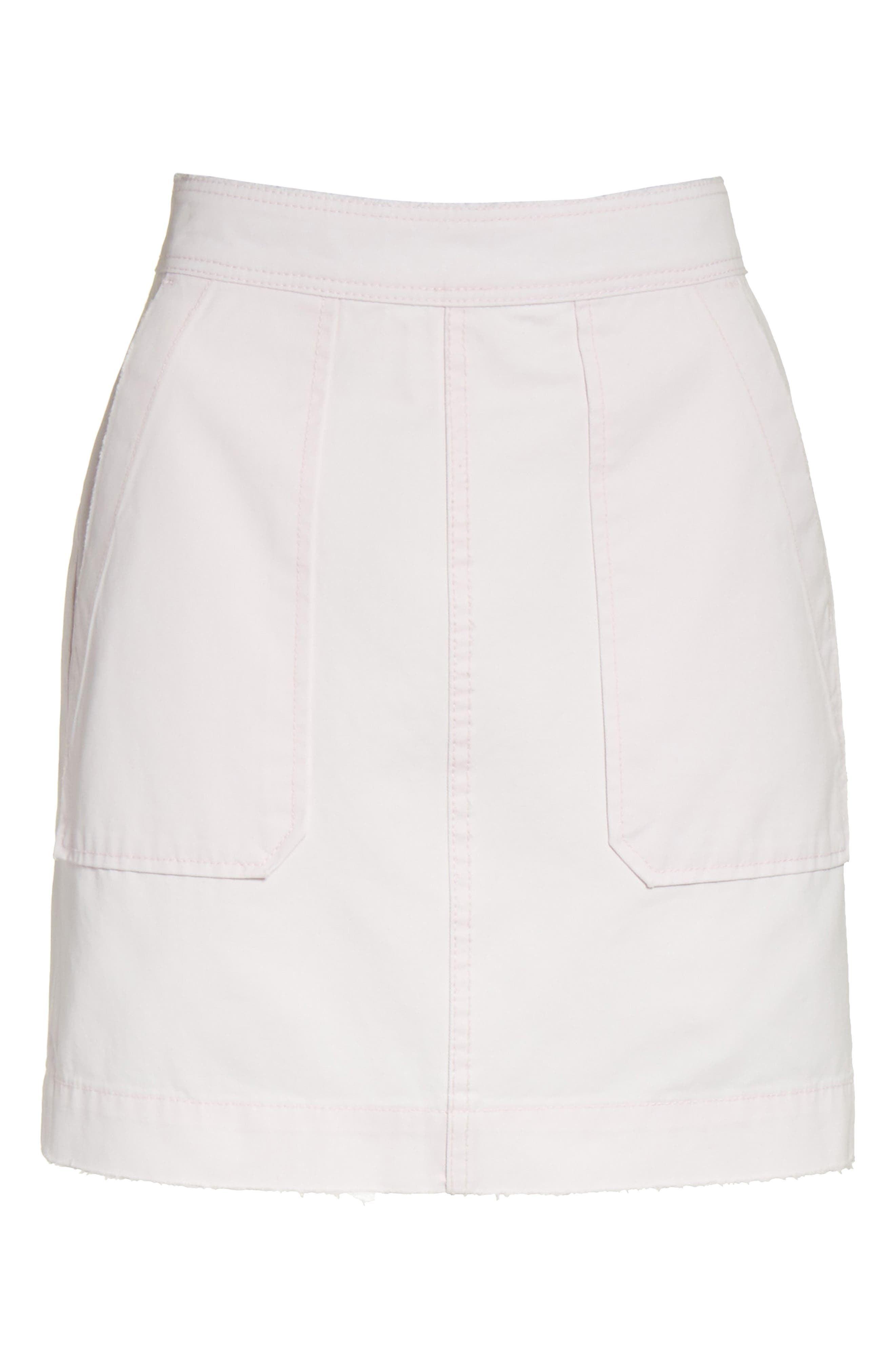 Army Twill Skirt,                             Alternate thumbnail 6, color,                             688