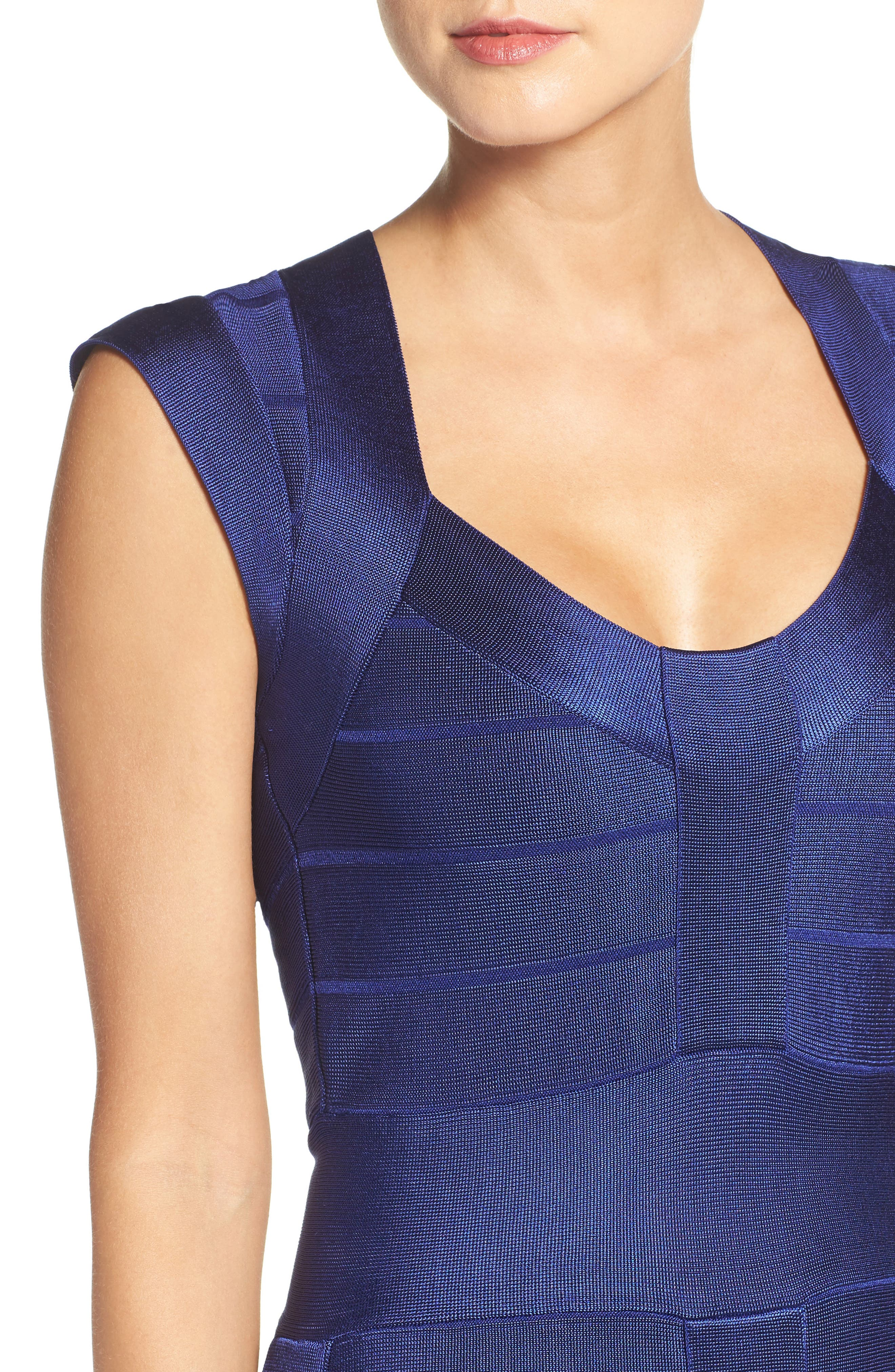 Spotlight Bandage Dress,                             Alternate thumbnail 4, color,                             431