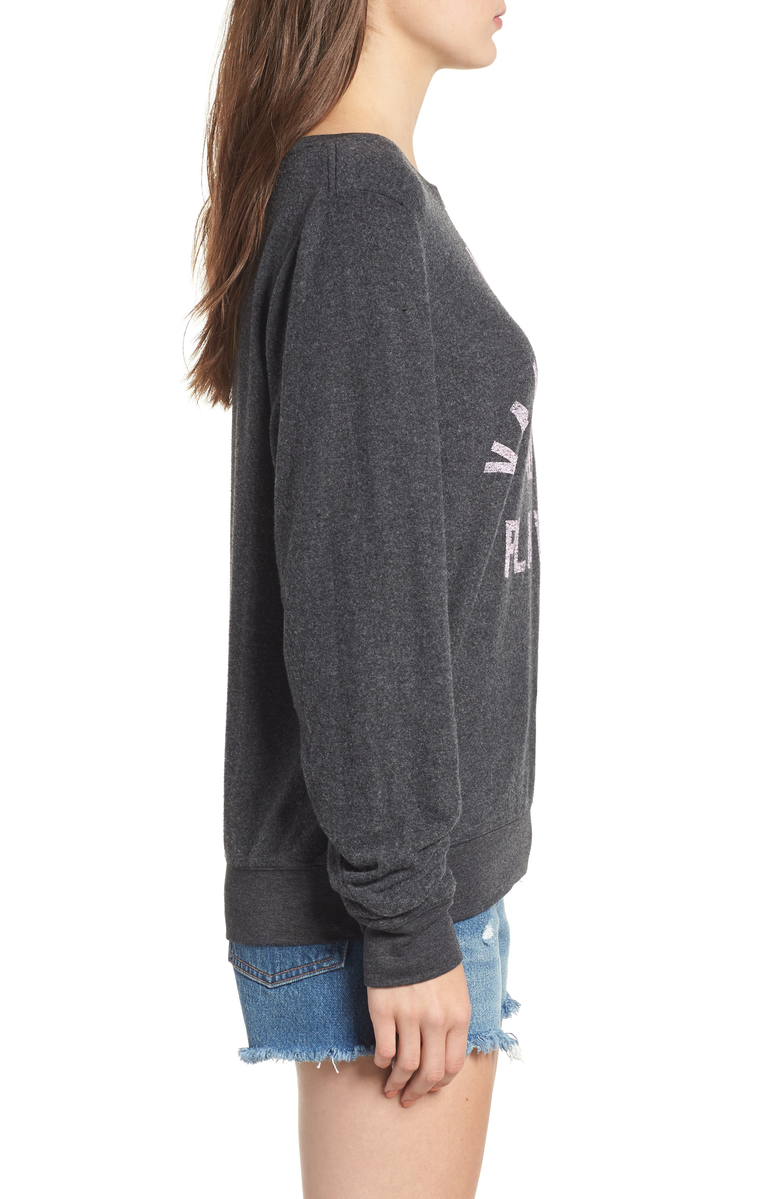 Most Valuable Player Baggy Beach Jumper Sweatshirt,                             Alternate thumbnail 3, color,                             002
