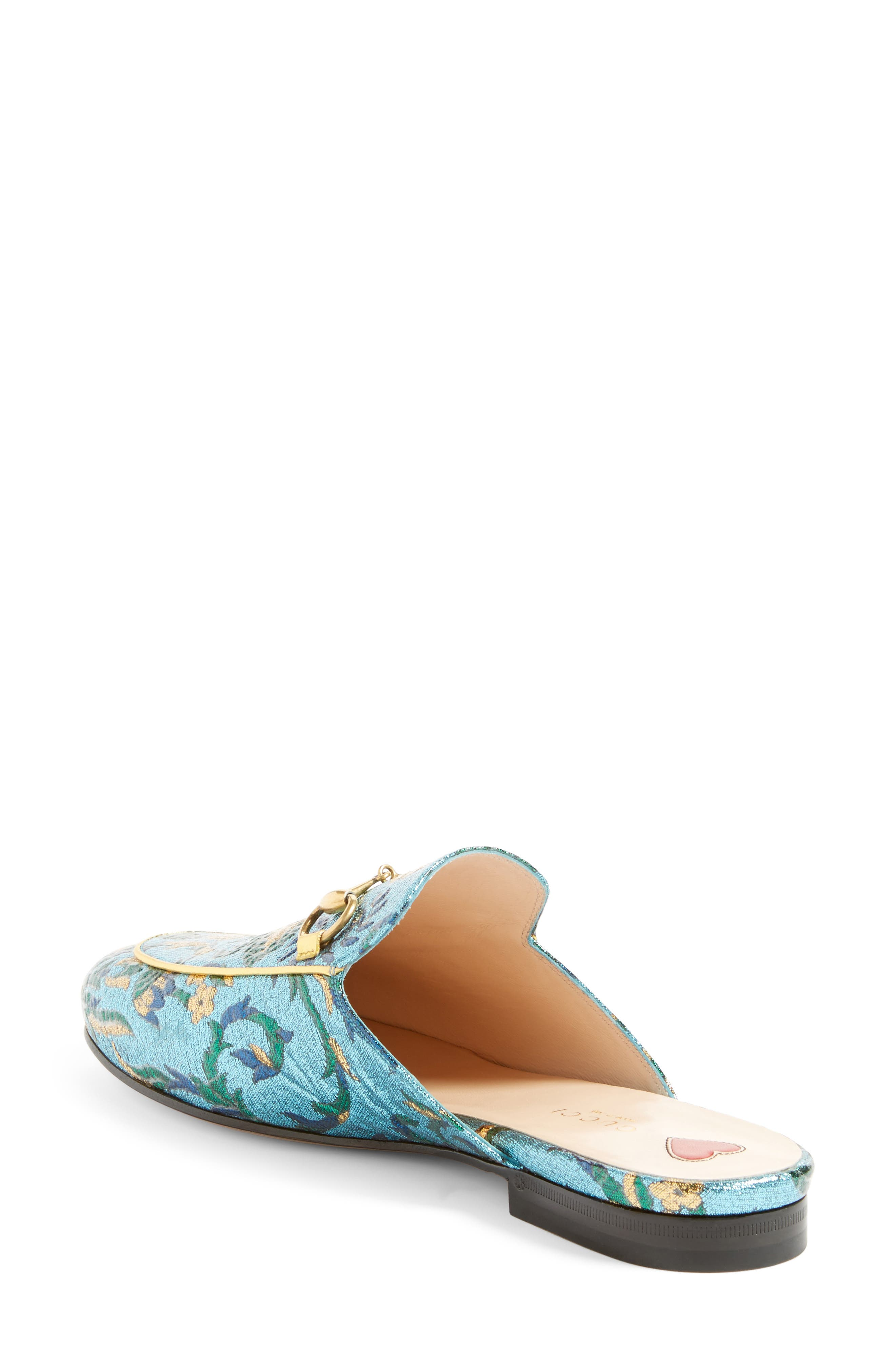 Princetown Loafer Mule,                             Alternate thumbnail 3, color,