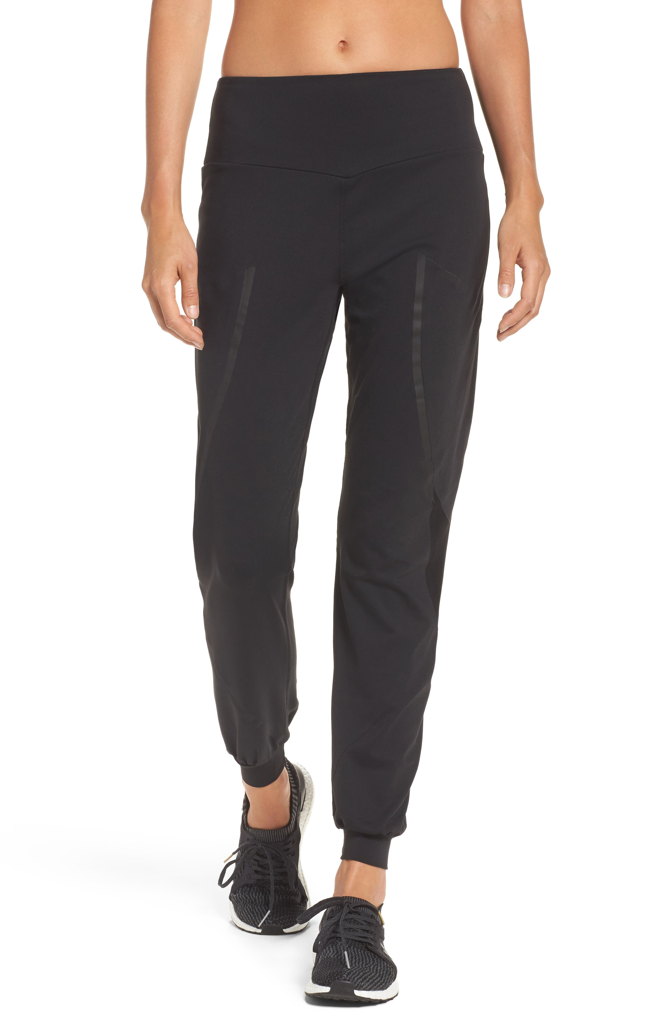 BoomBoom Athletica Track Pants,                             Main thumbnail 1, color,                             BLACK